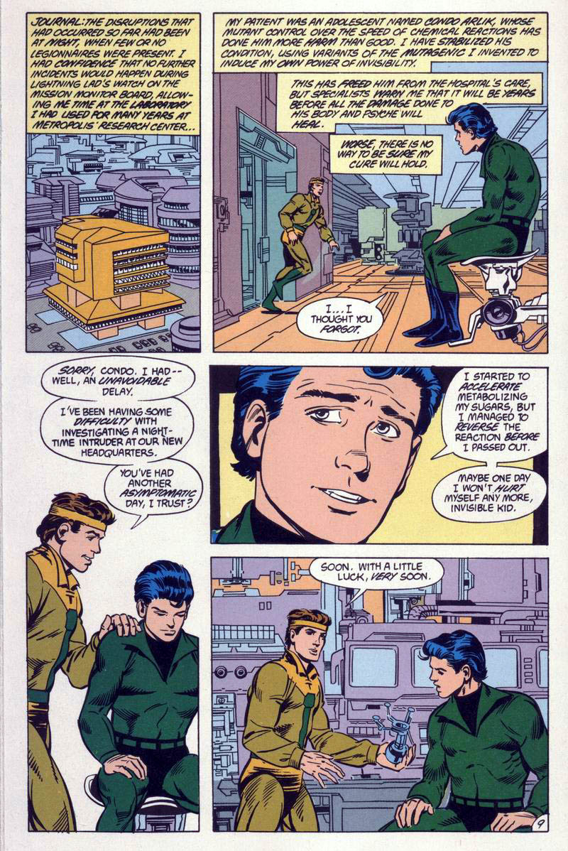 Legion of Super-Heroes (1984) 59 Page 9