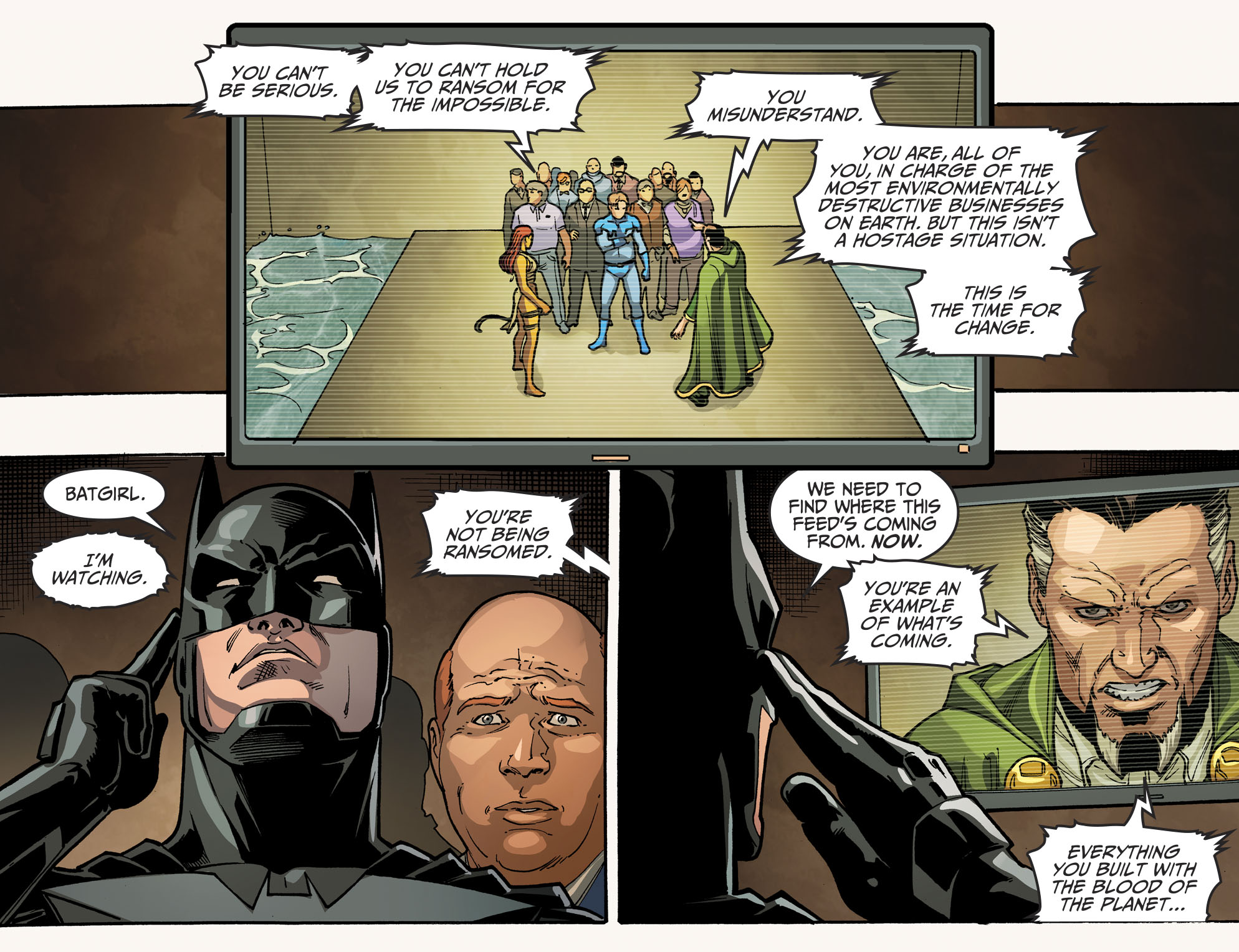 Read online Injustice 2 comic -  Issue #10 - 17