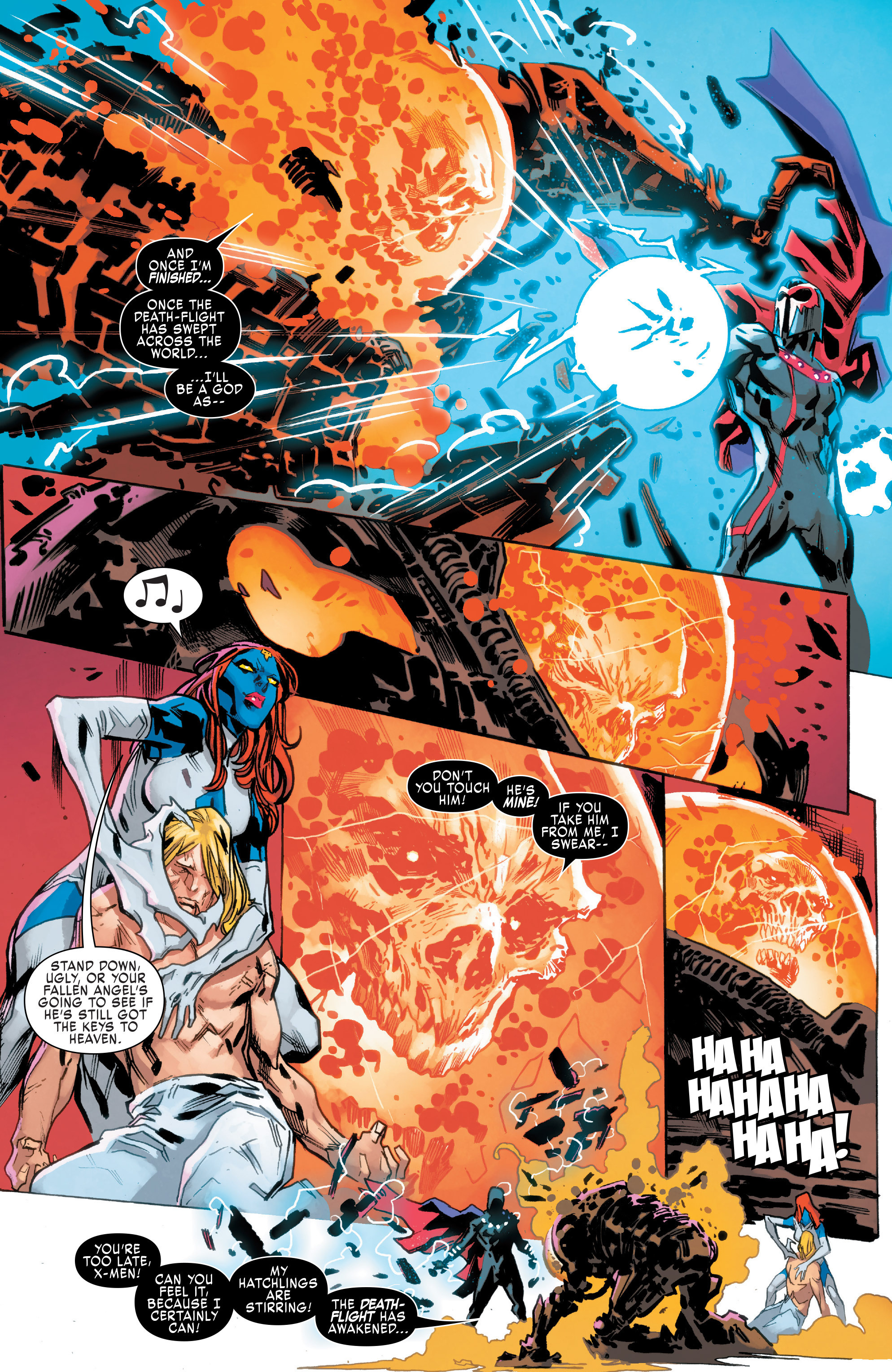 Read online Uncanny X-Men (2016) comic -  Issue #9 - 17