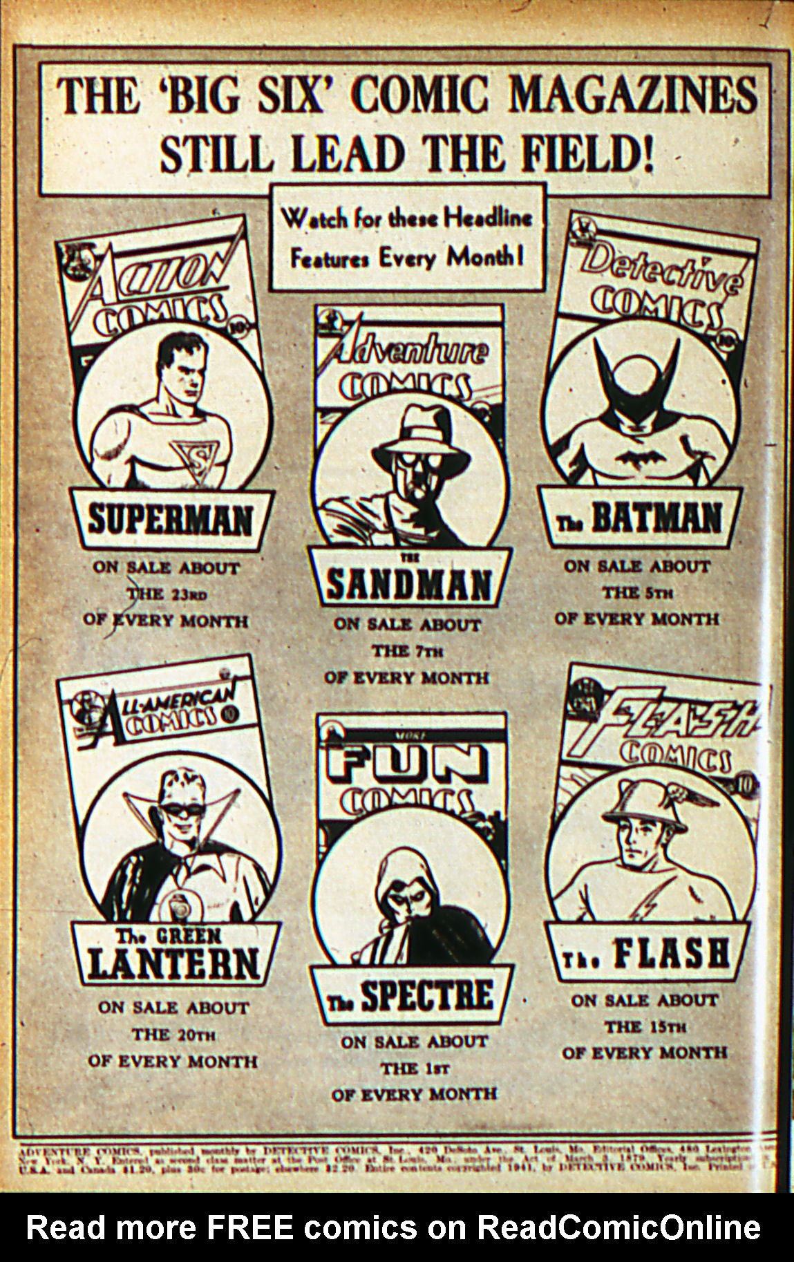Read online Adventure Comics (1938) comic -  Issue #60 - 3