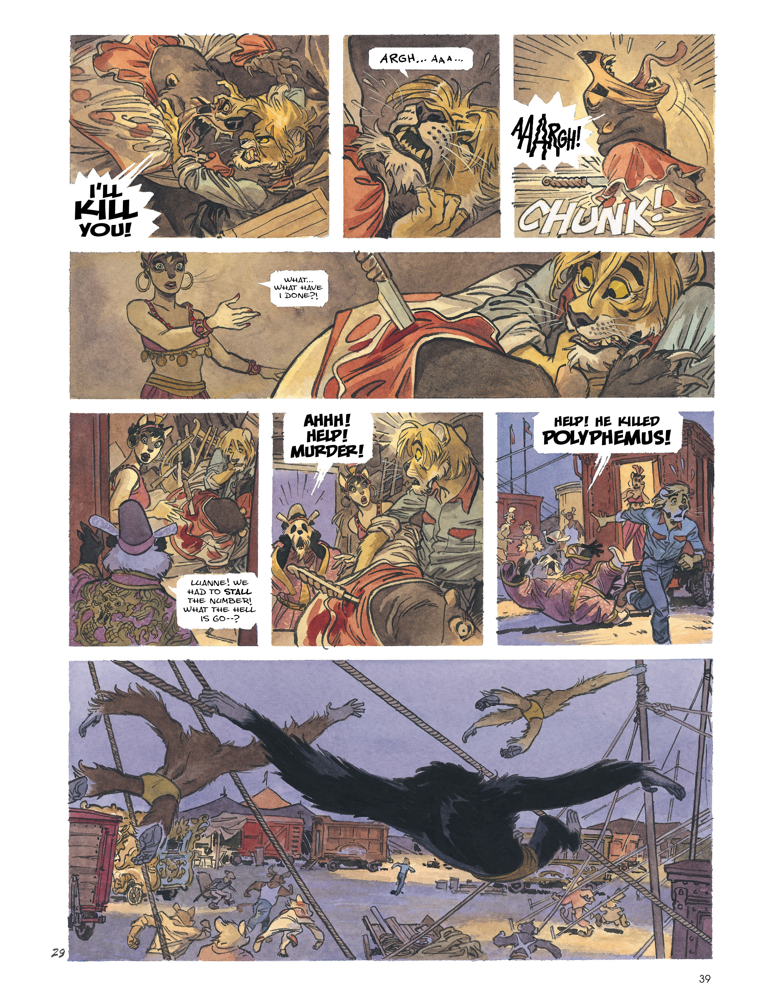 Read online Blacksad: Amarillo comic -  Issue # Full - 38