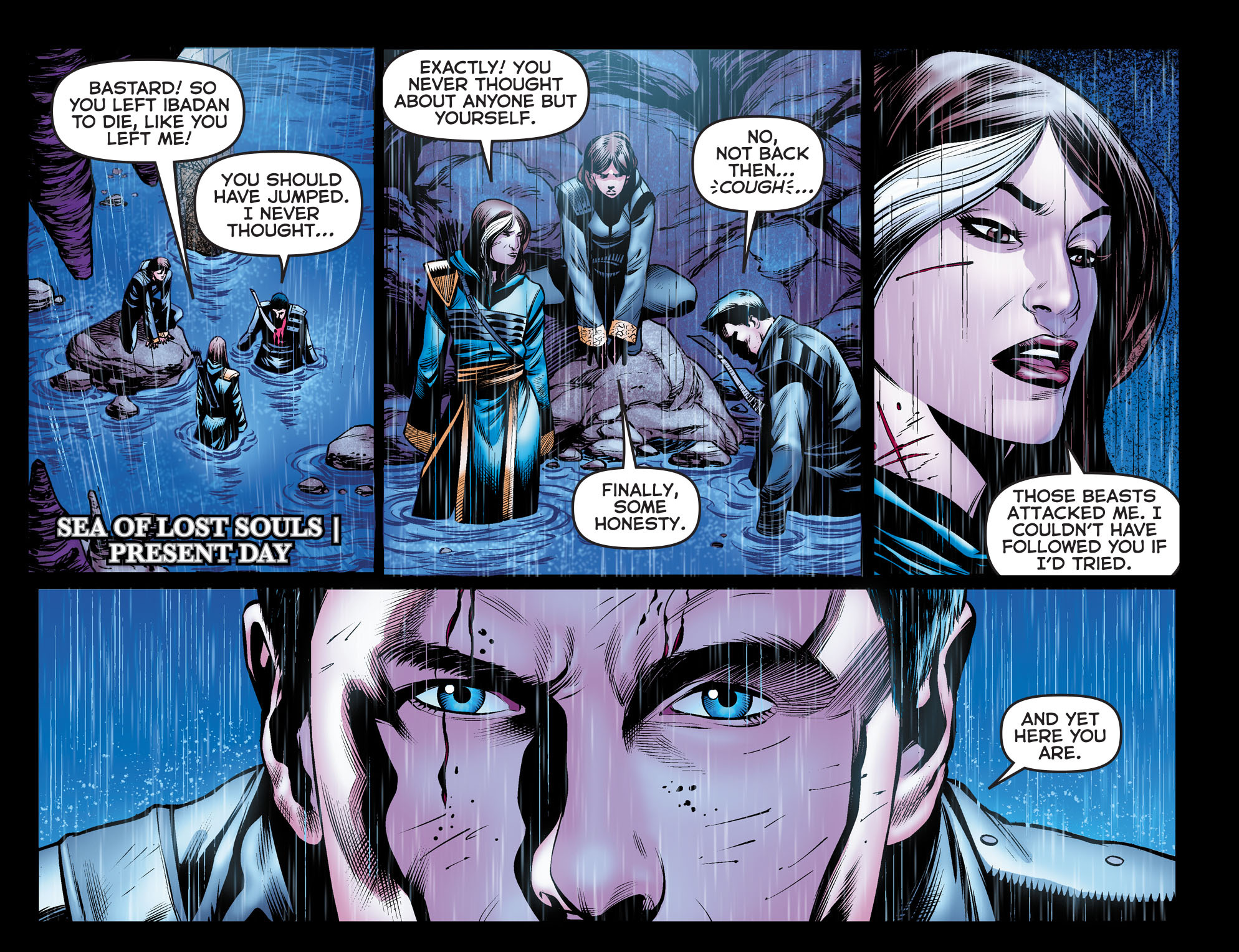 Read online Arrow: The Dark Archer comic -  Issue #9 - 15