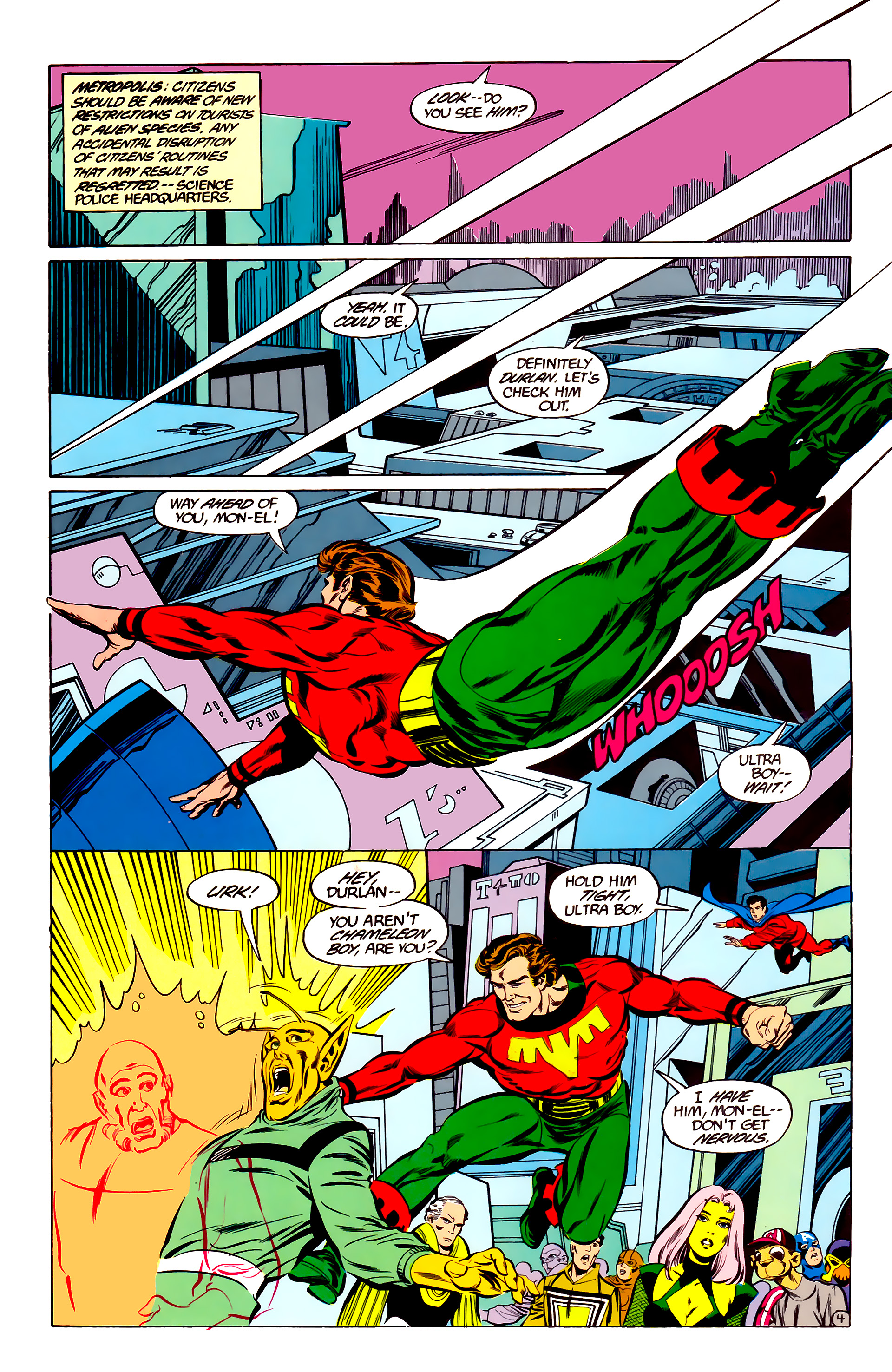 Legion of Super-Heroes (1984) 35 Page 4