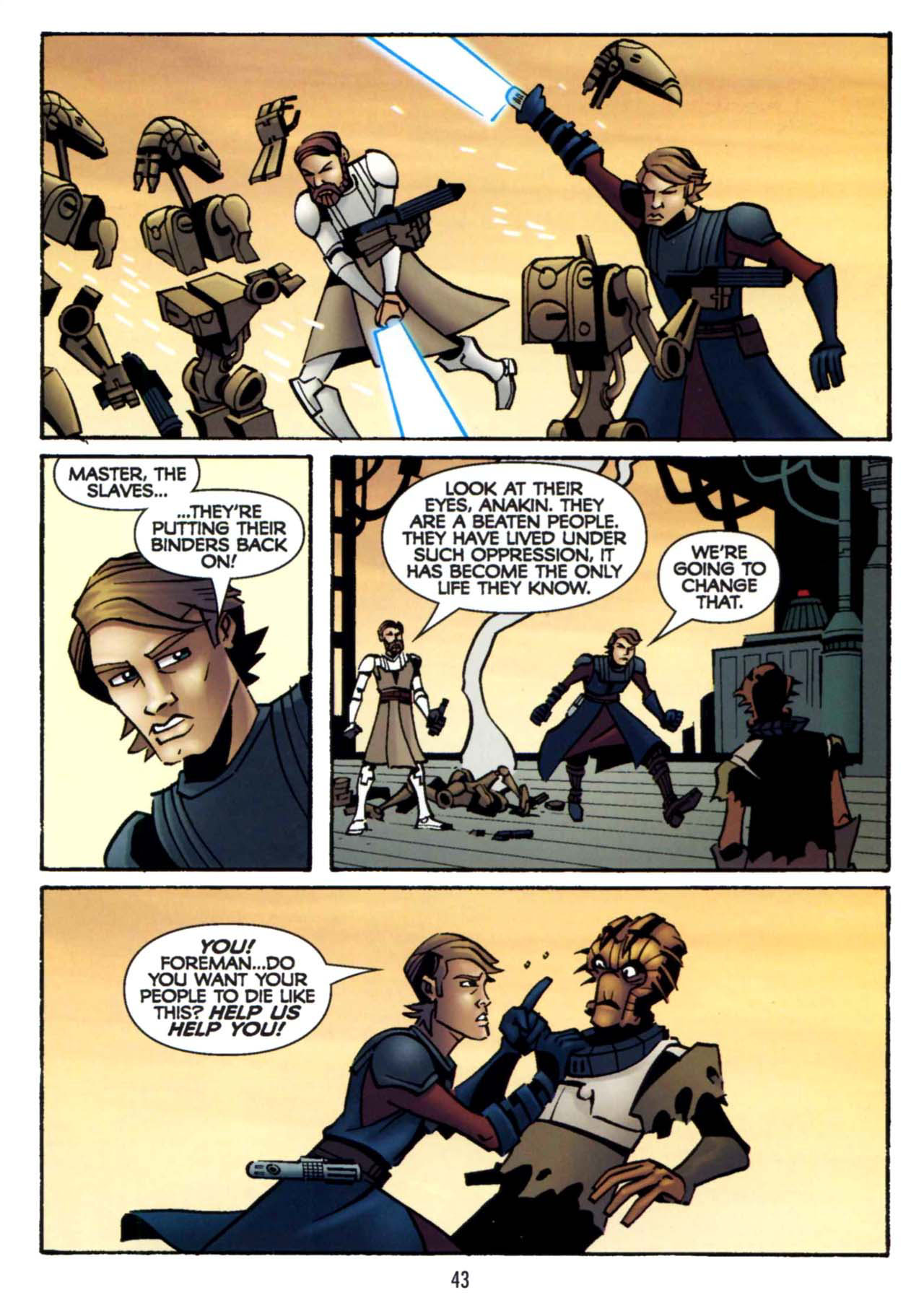 Read online Star Wars: The Clone Wars - Shipyards of Doom comic -  Issue # Full - 41