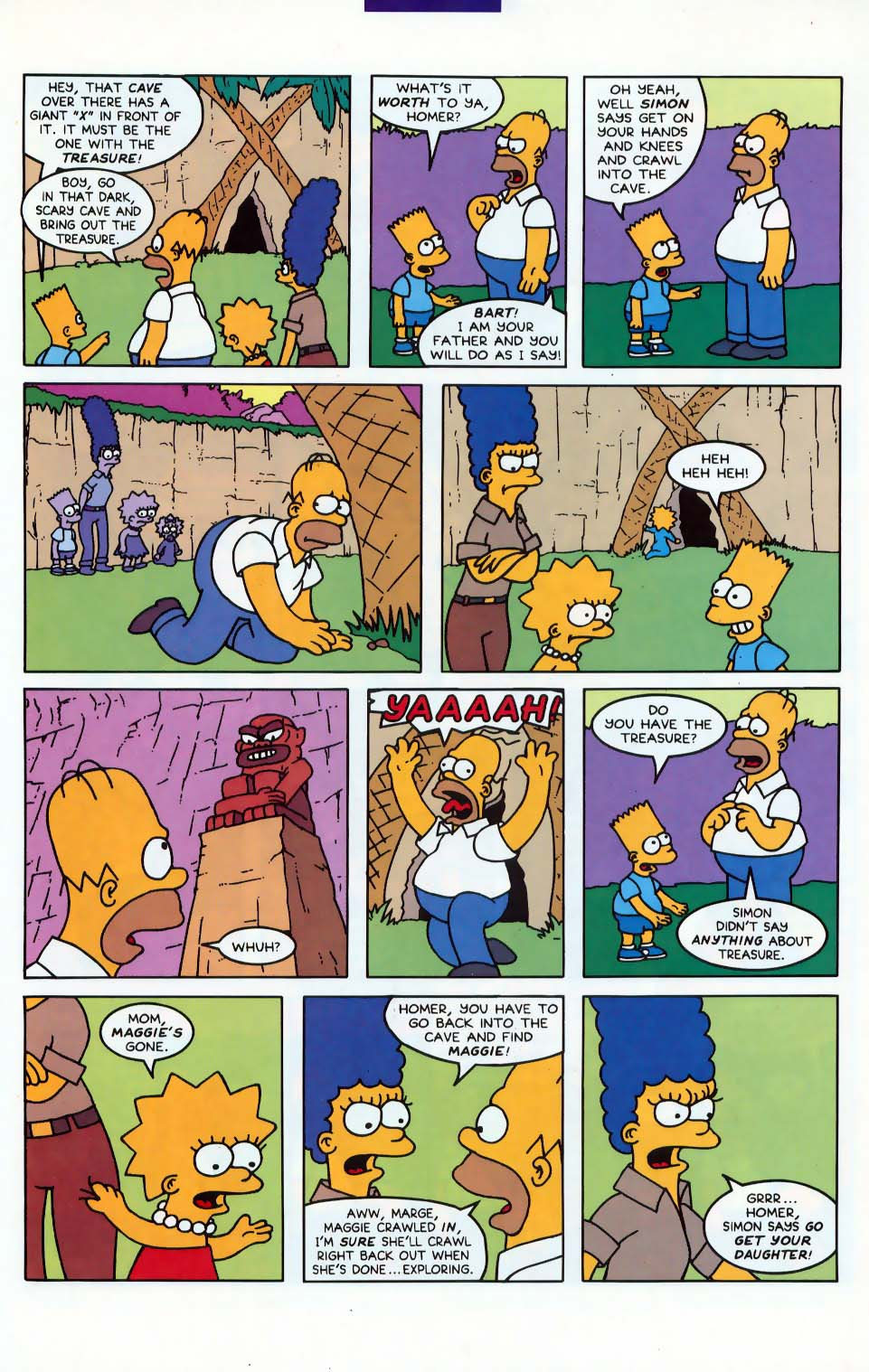Read online Simpsons Comics comic -  Issue #10 - 16