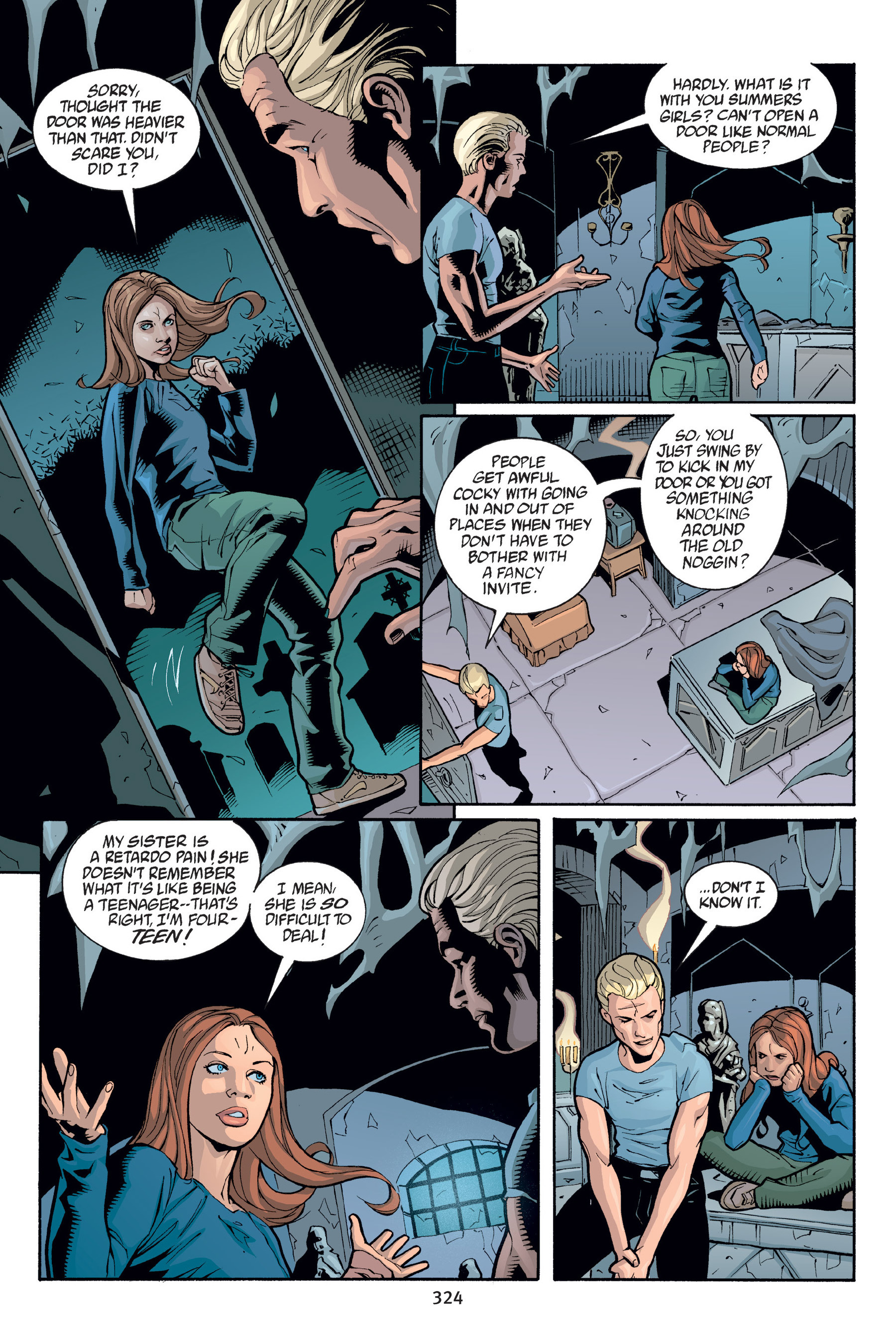 Read online Buffy the Vampire Slayer: Omnibus comic -  Issue # TPB 6 - 321