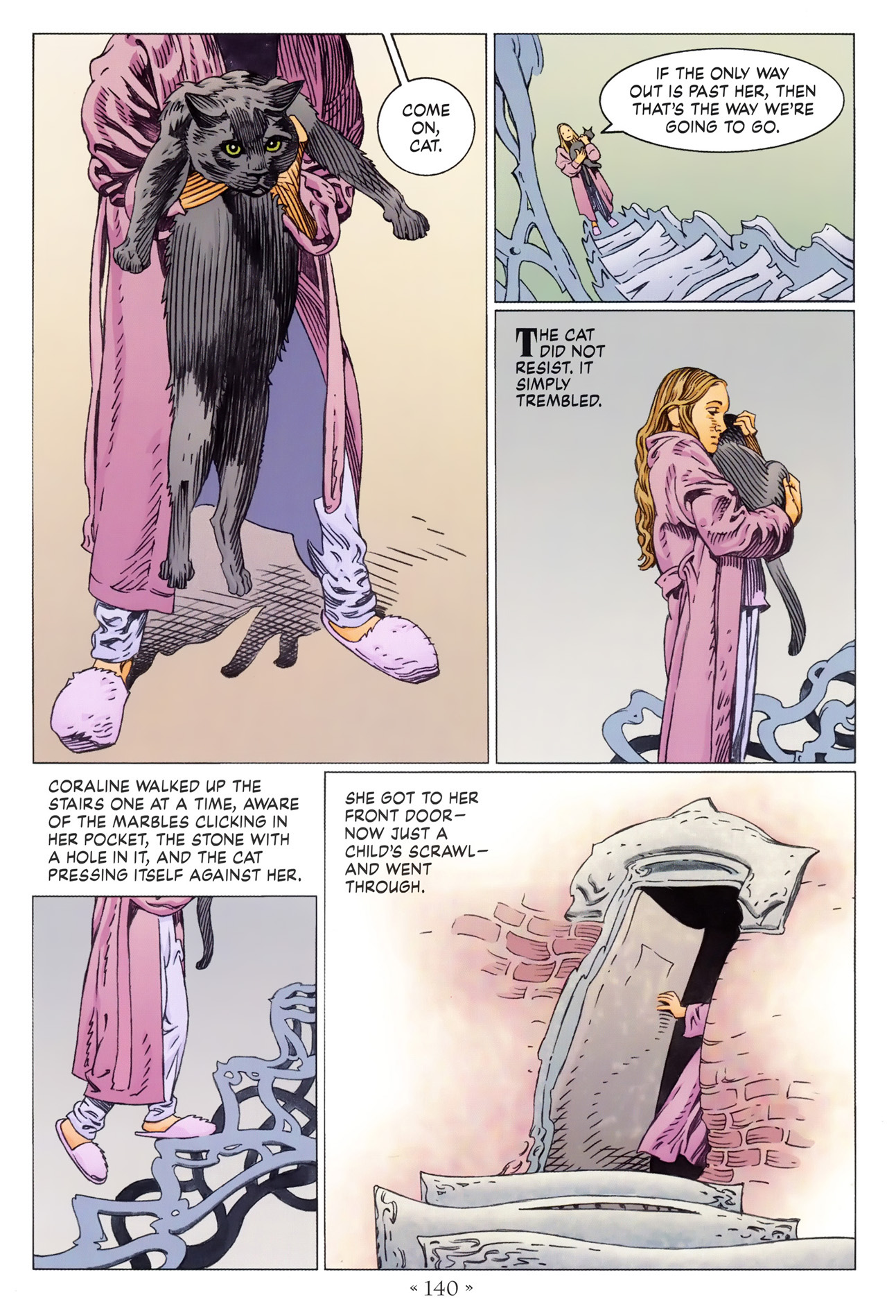 Read online Coraline comic -  Issue #1 - 146