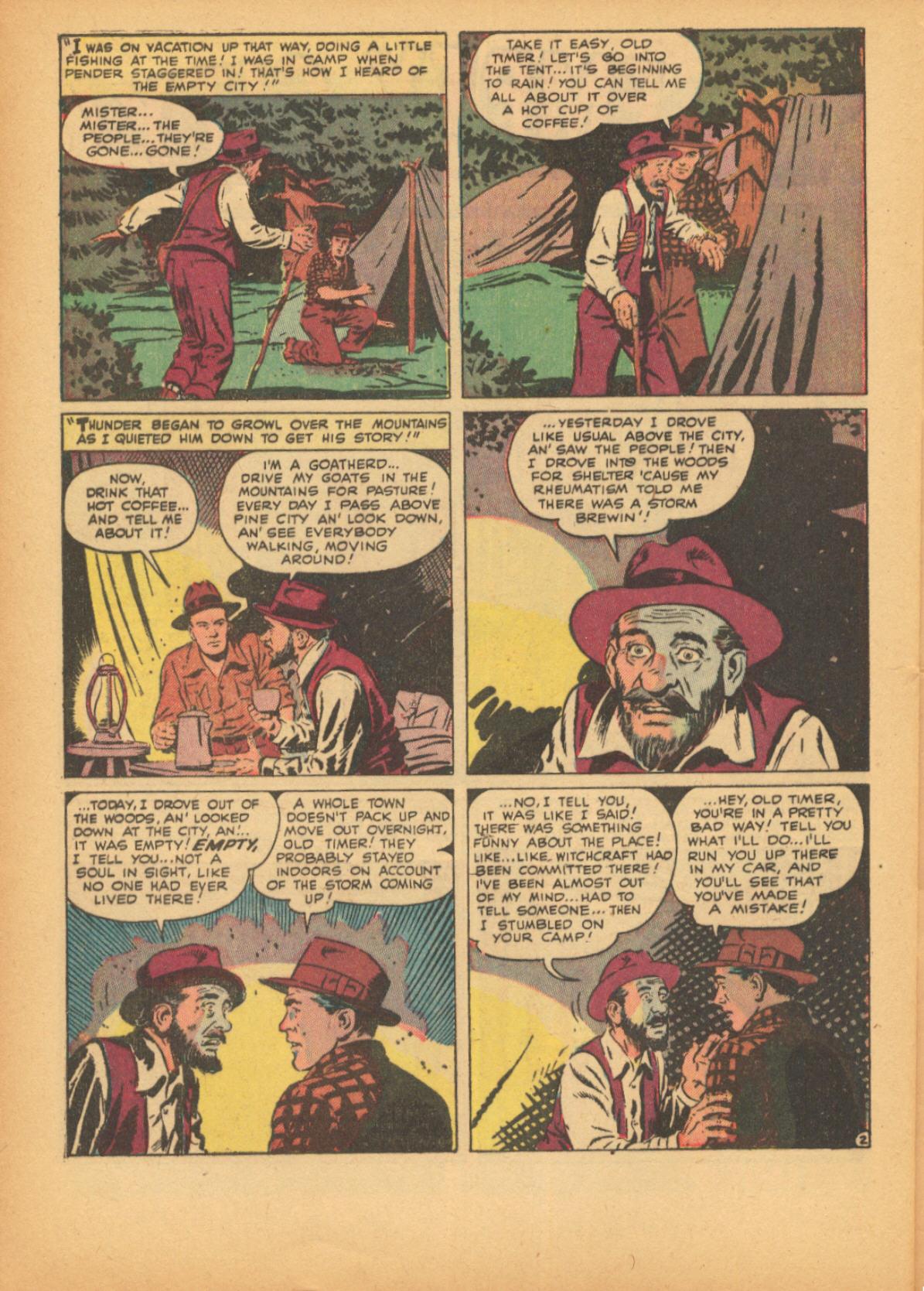Read online Adventures into Weird Worlds comic -  Issue #3 - 28