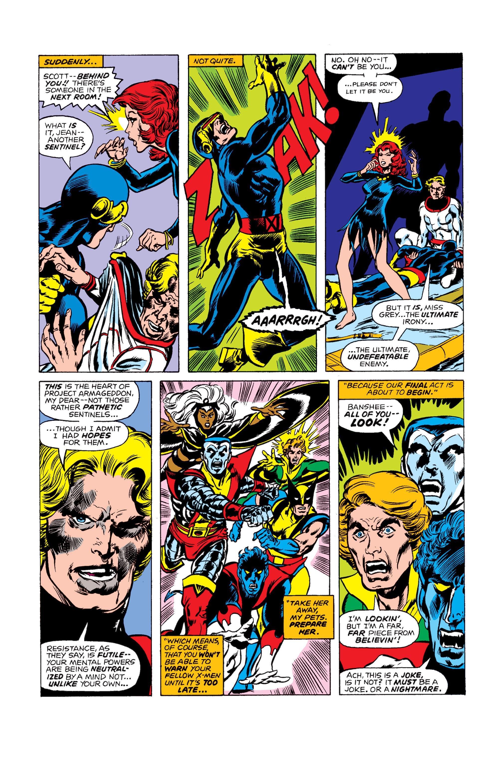 Uncanny X-Men (1963) 99 Page 16