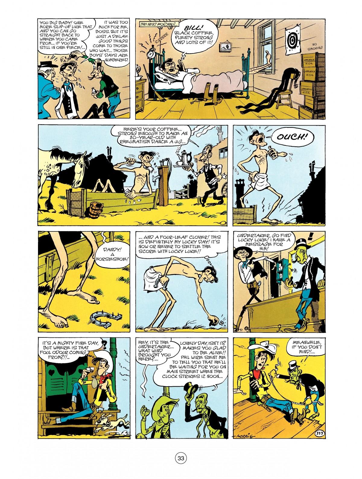 Read online A Lucky Luke Adventure comic -  Issue #40 - 33