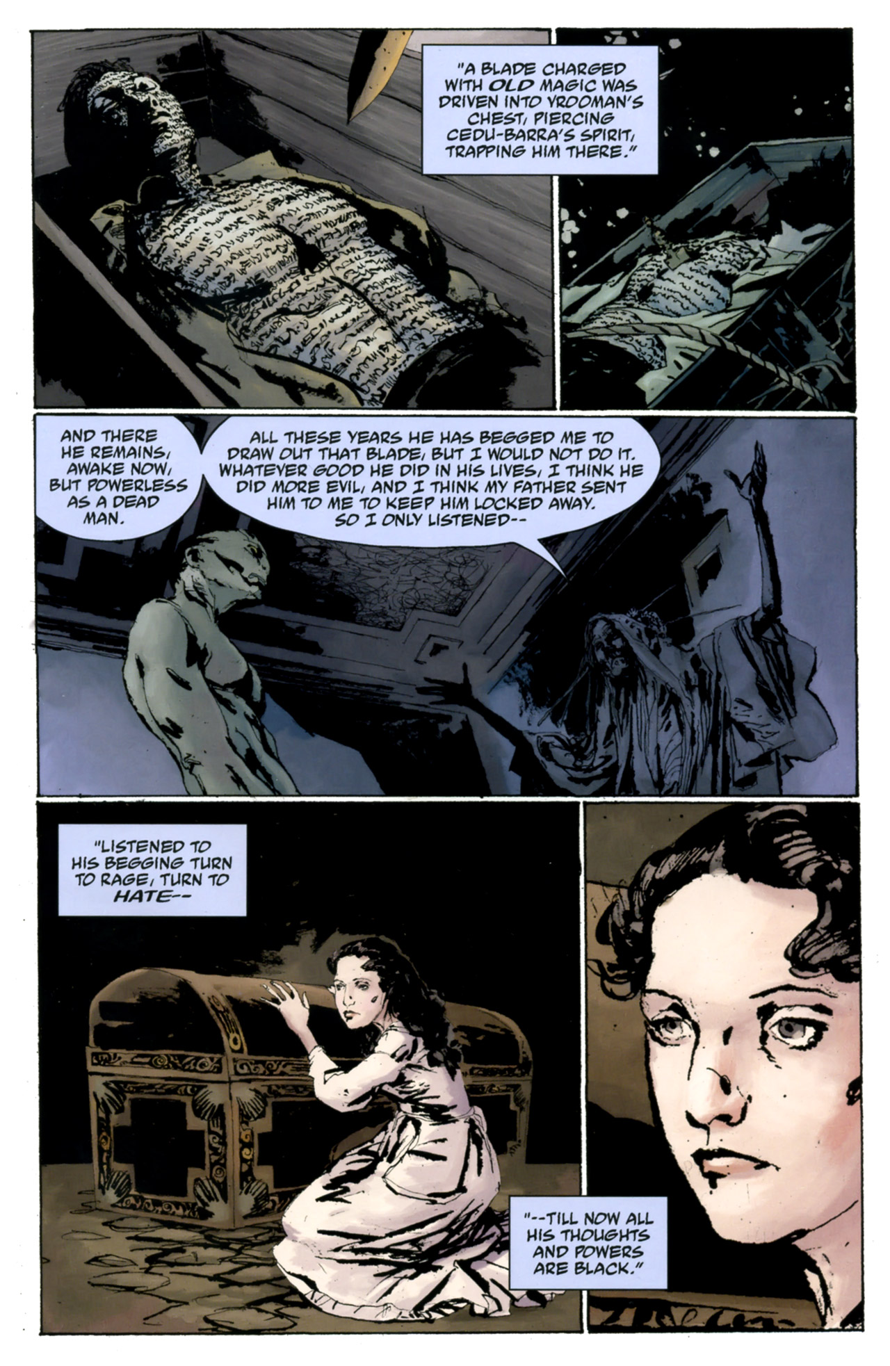 Read online Abe Sapien: The Drowning comic -  Issue #4 - 21