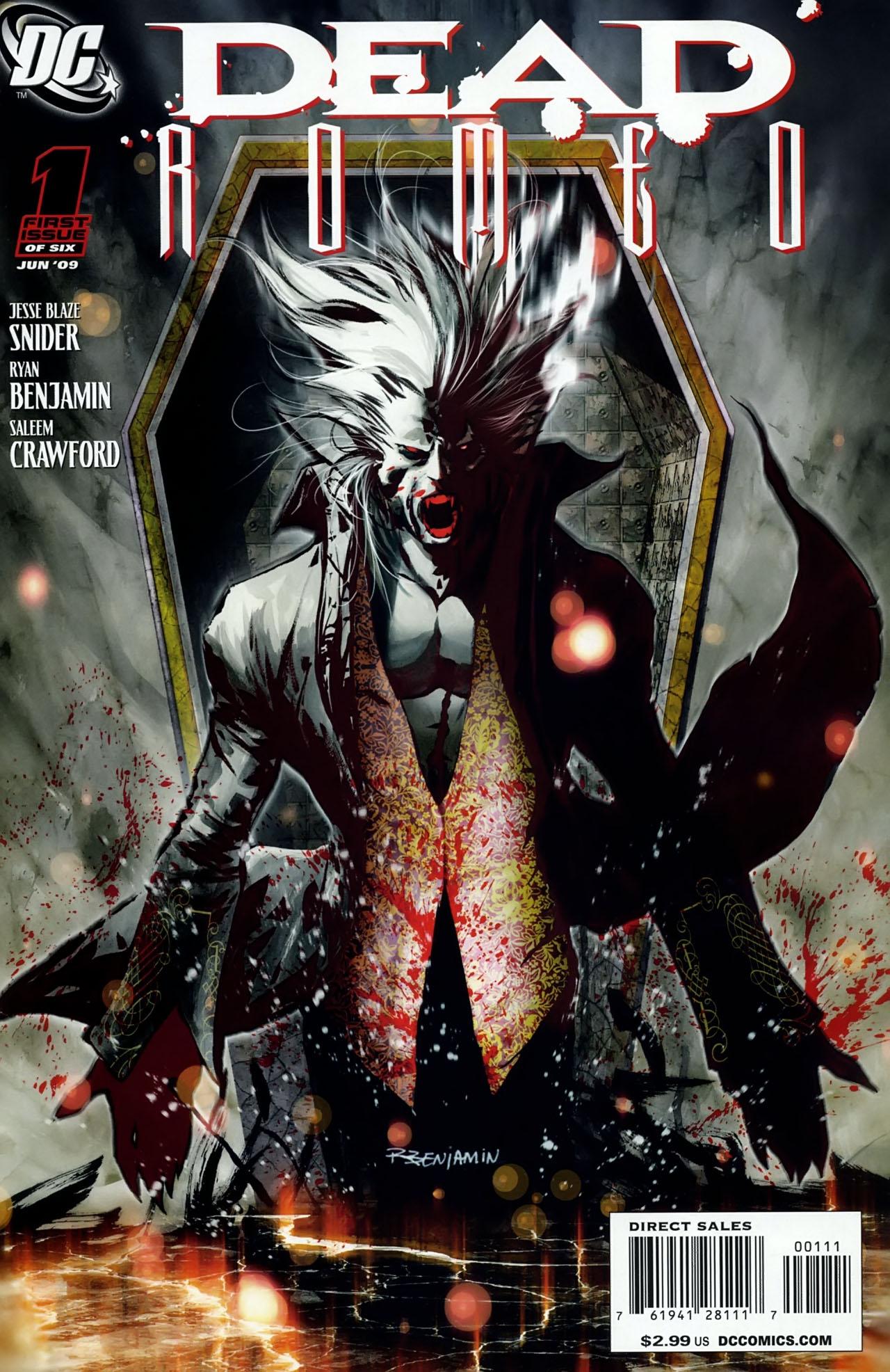 Read online Dead Romeo comic -  Issue #1 - 1