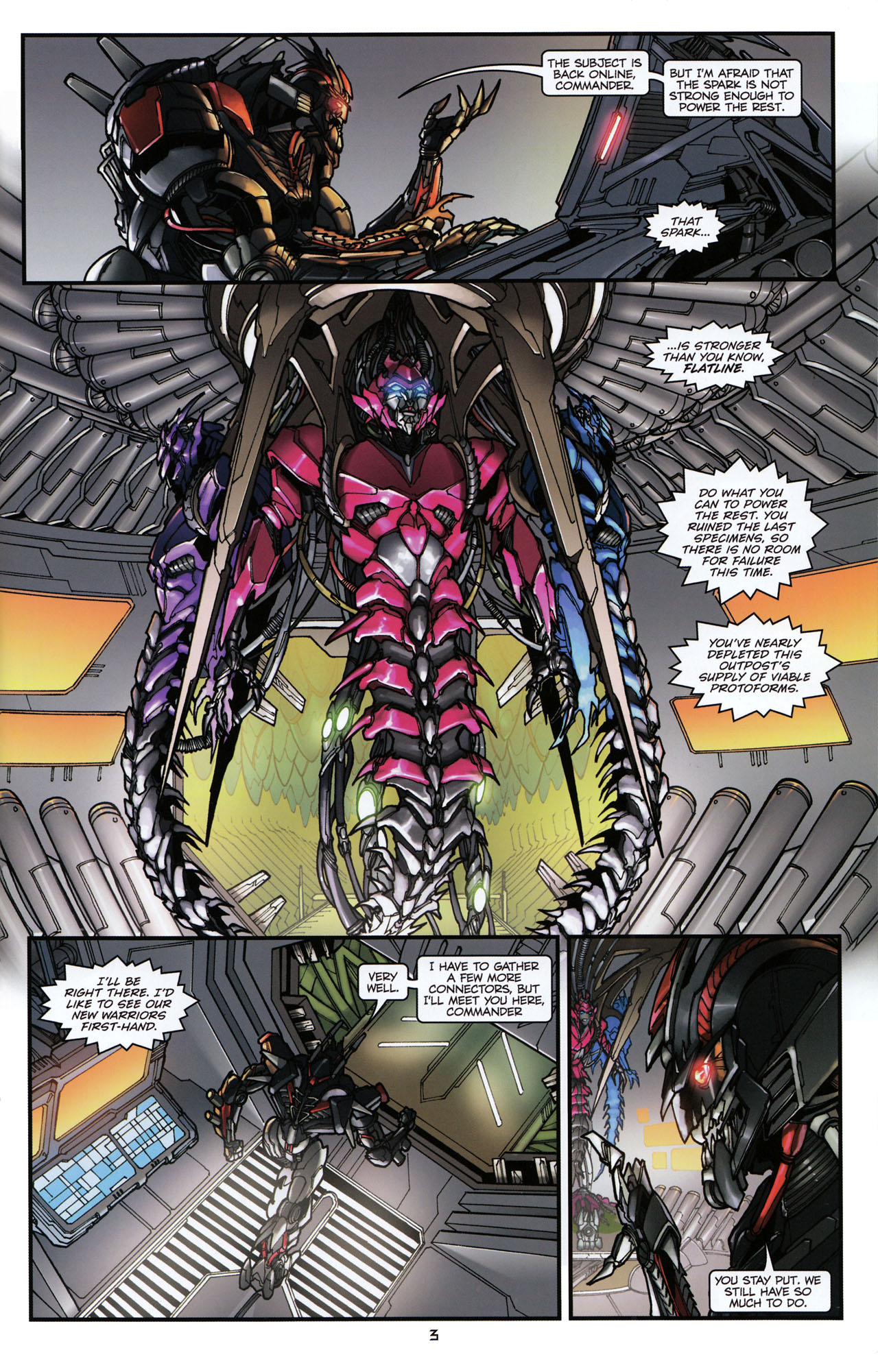 Read online Transformers: Tales of The Fallen comic -  Issue #6 - 5