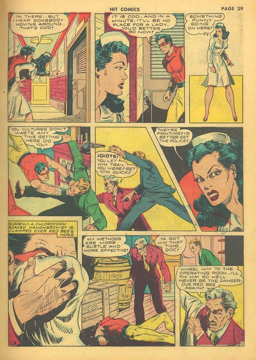 Read online Hit Comics comic -  Issue #24 - 31
