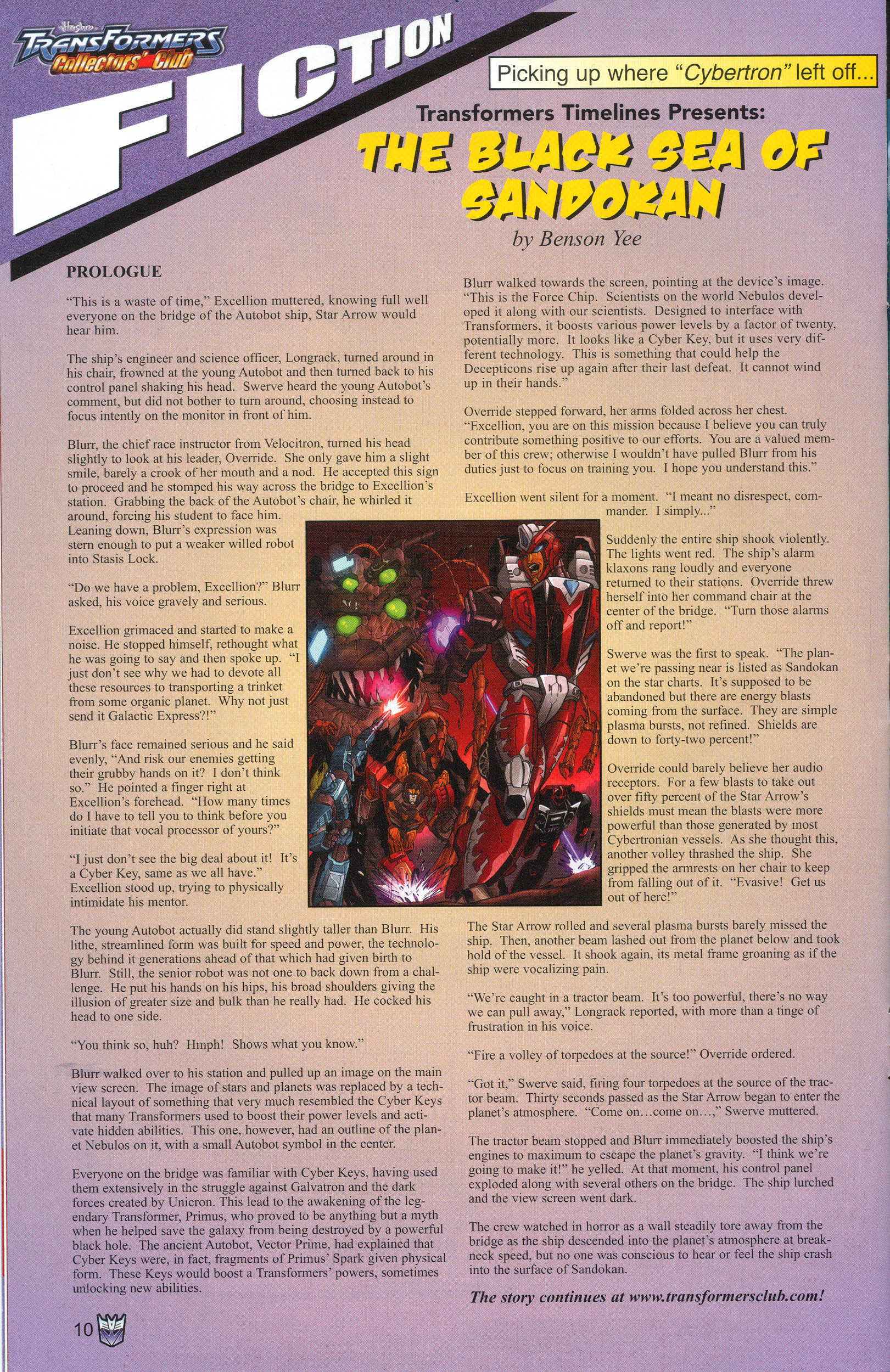 Read online Transformers: Collectors' Club comic -  Issue #13 - 10