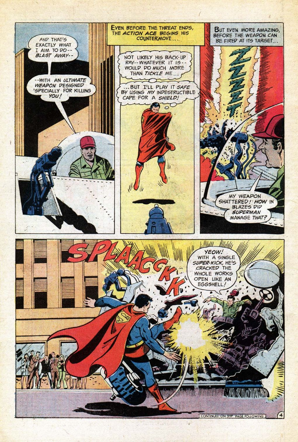 Read online Action Comics (1938) comic -  Issue #434 - 6