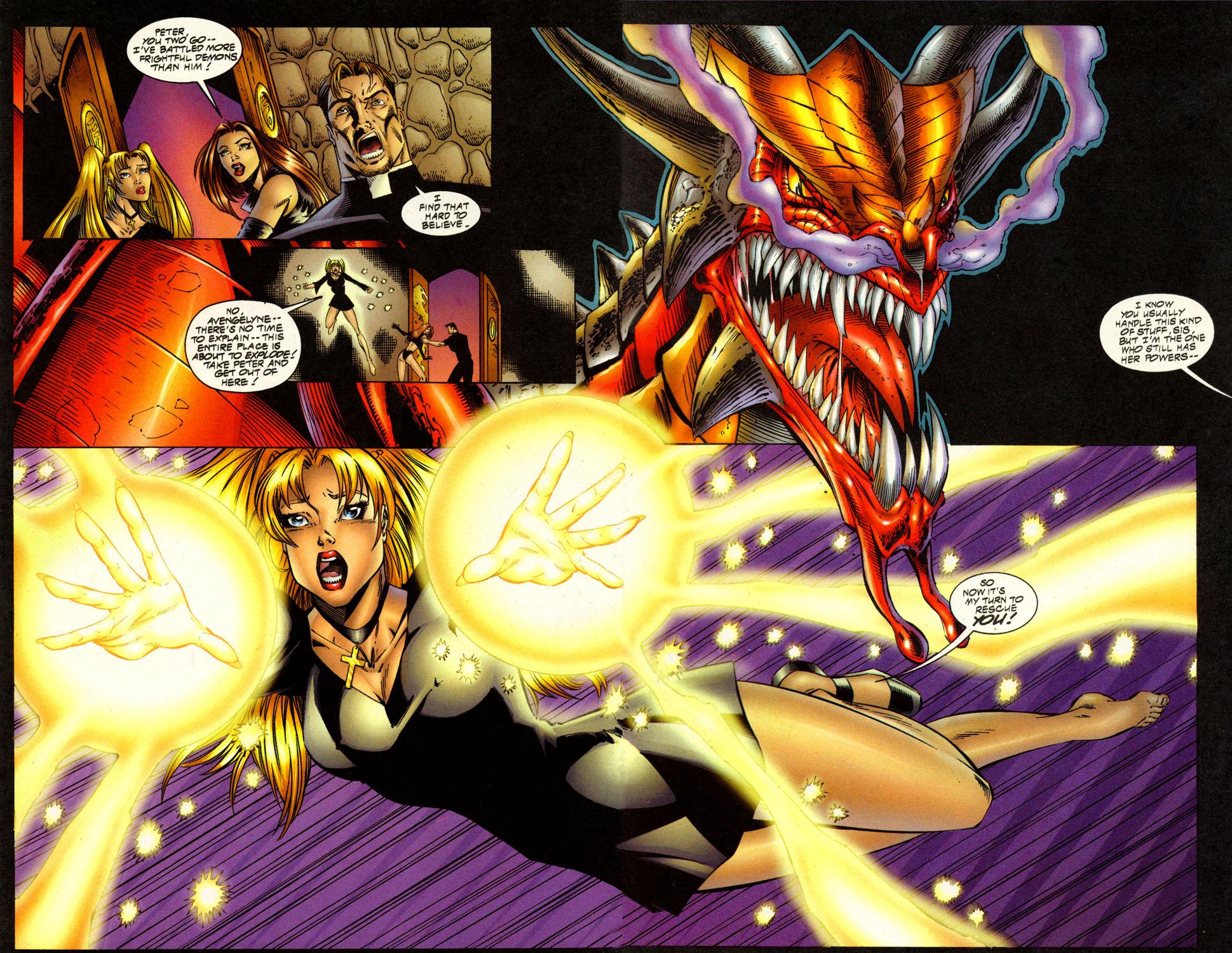Read online Avengelyne (1996) comic -  Issue #7 - 15
