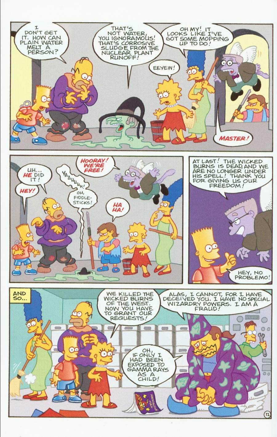 Read online Treehouse of Horror comic -  Issue #7 - 25