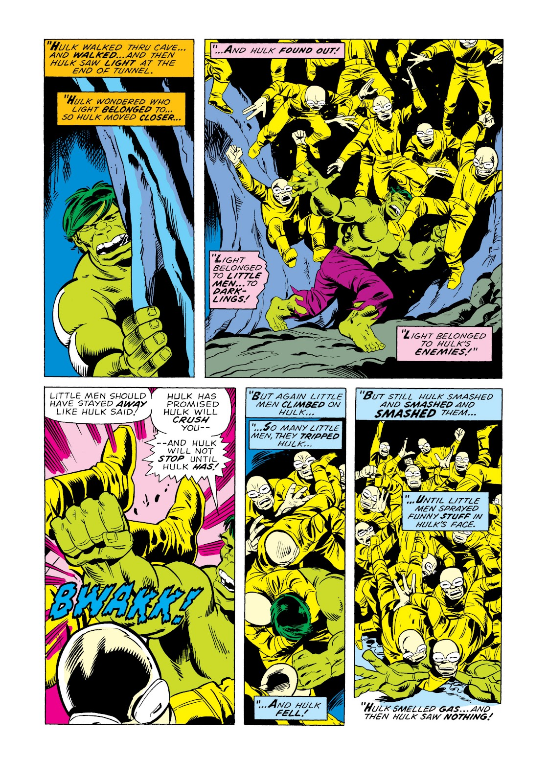 Read online Marvel Masterworks: The Incredible Hulk comic -  Issue # TPB 11 (Part 2) - 10