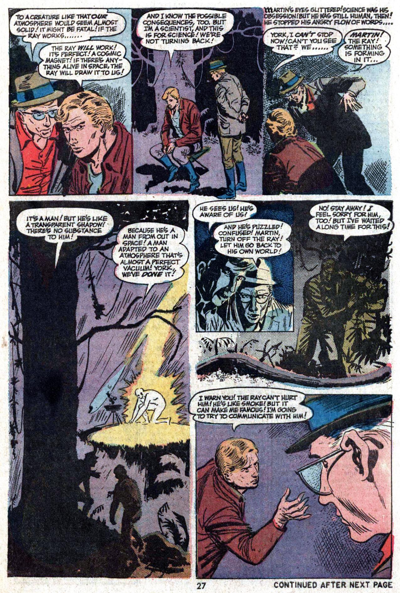 Read online Amazing Adventures (1970) comic -  Issue #22 - 27