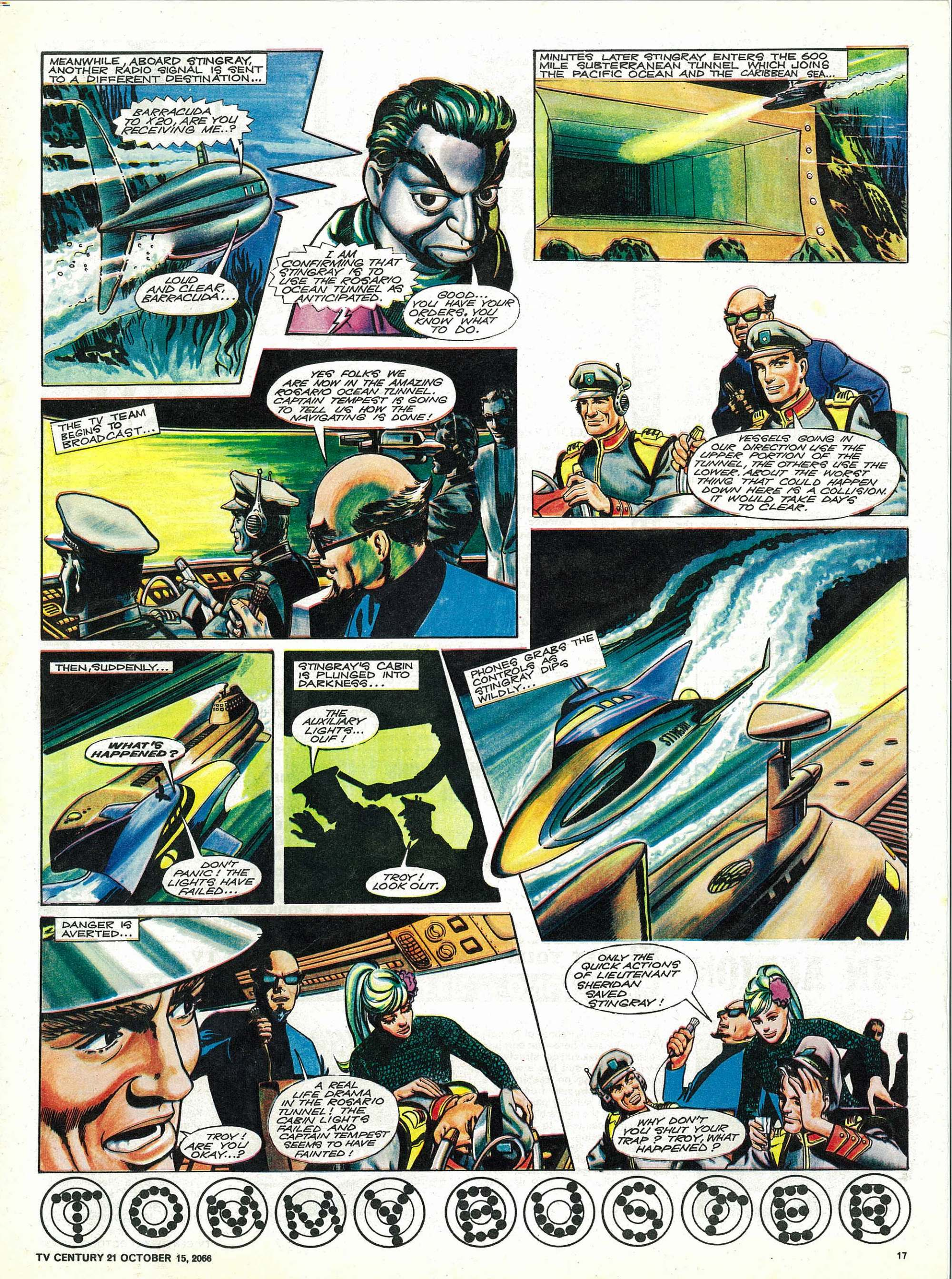 Read online TV Century 21 (TV 21) comic -  Issue #91 - 16