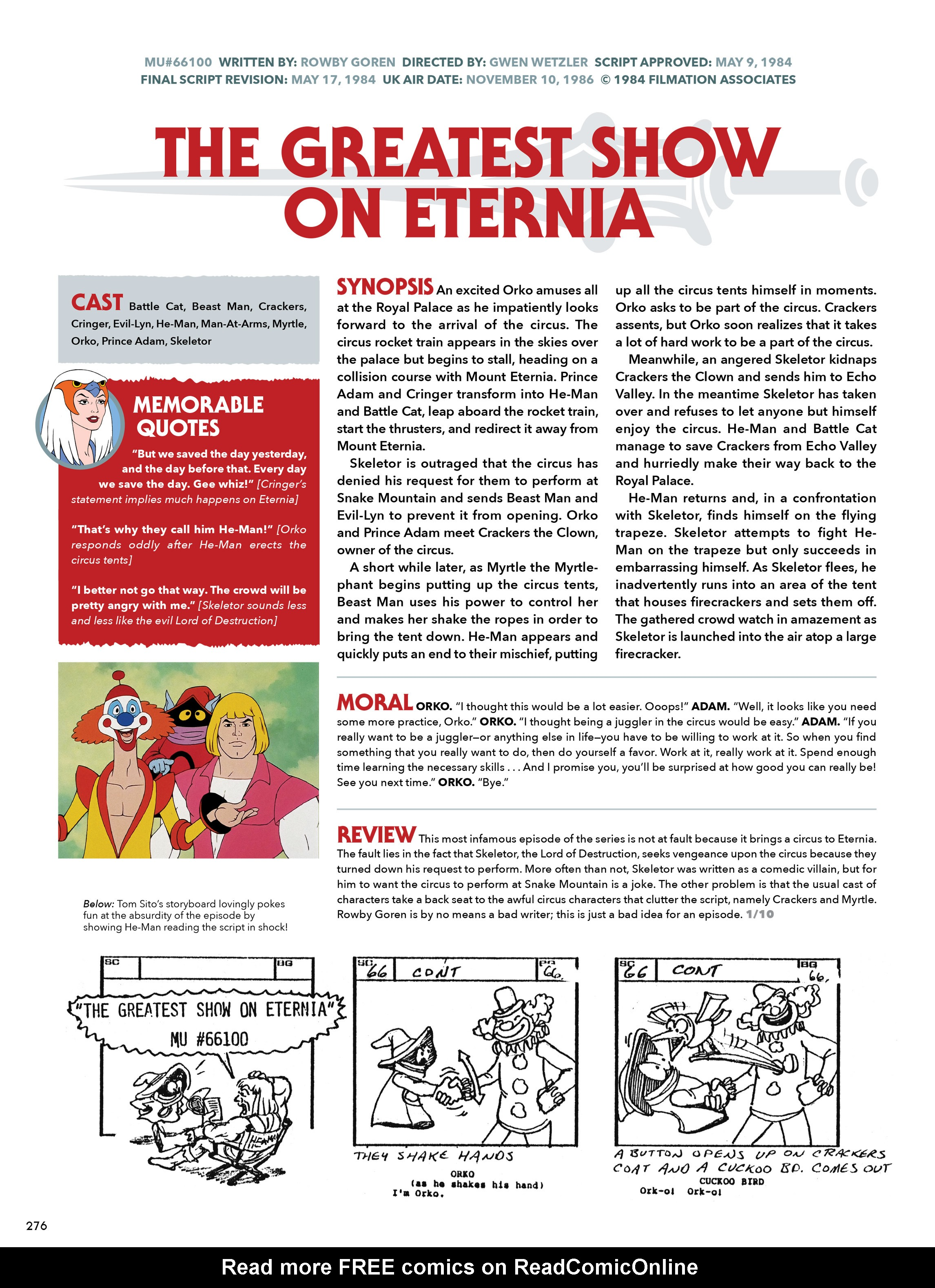 Read online He-Man and She-Ra: A Complete Guide to the Classic Animated Adventures comic -  Issue # TPB (Part 2) - 77