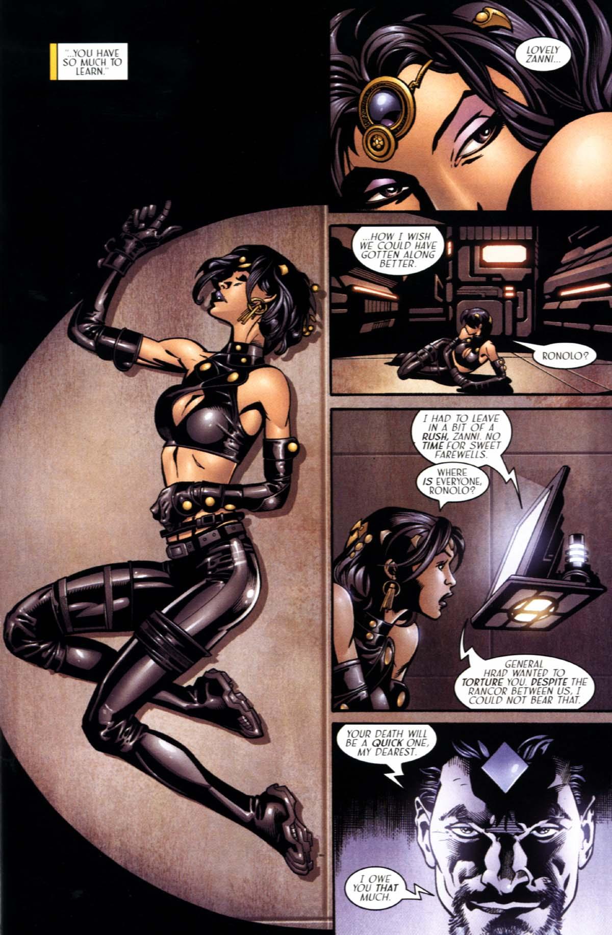 Read online Sigil (2000) comic -  Issue #22 - 11