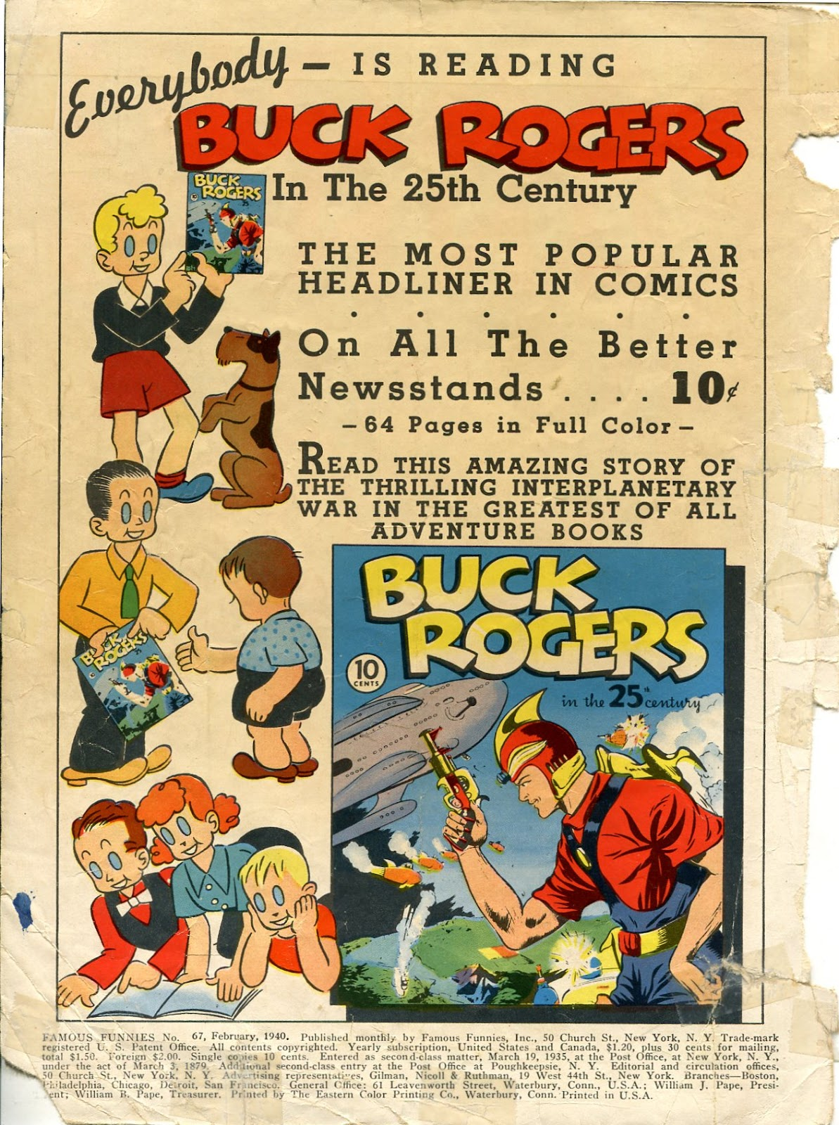 Read online Famous Funnies comic -  Issue #67 - 2