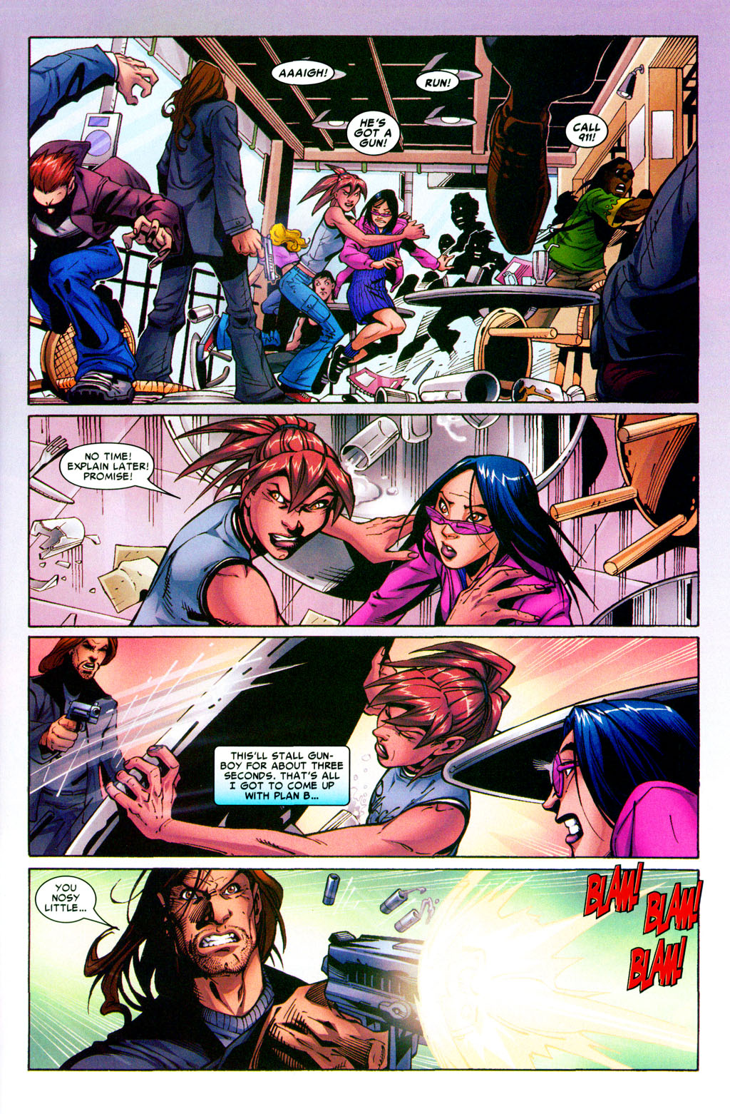 Read online Araña: Heart of the Spider comic -  Issue #5 - 23