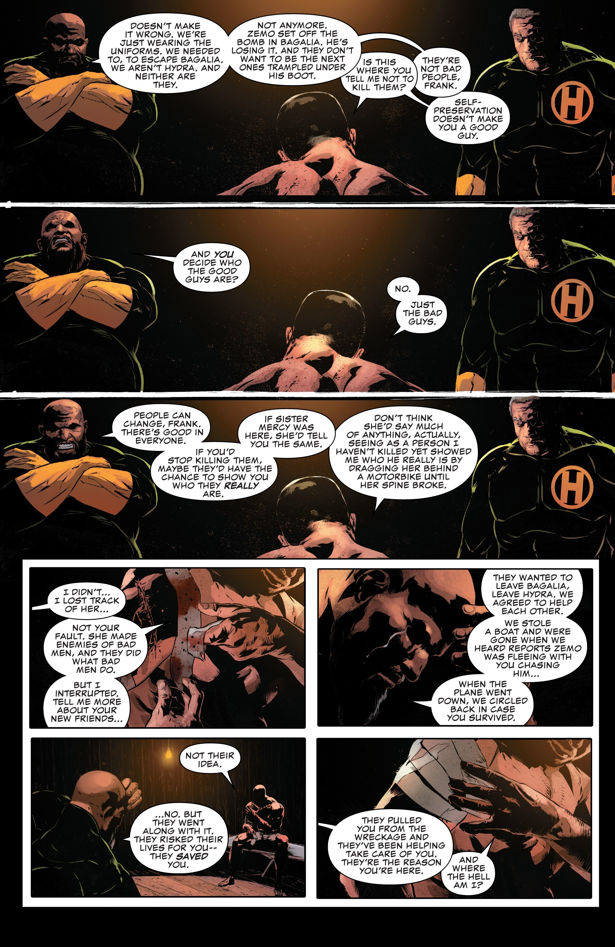 Read online The Punisher (2018) comic -  Issue #12 - 9