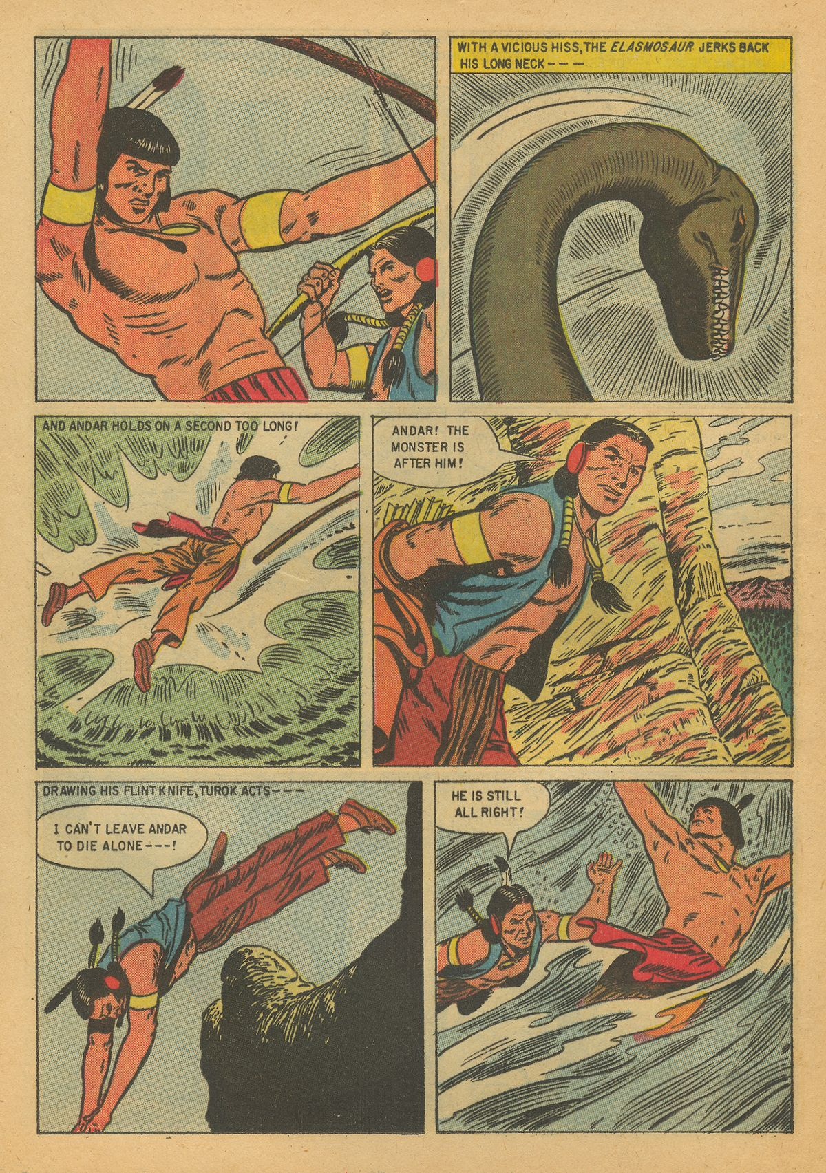 Read online Turok, Son of Stone comic -  Issue #8 - 12