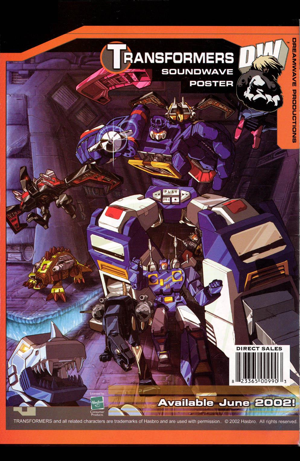 Read online Transformers Armada comic -  Issue #0 - 16