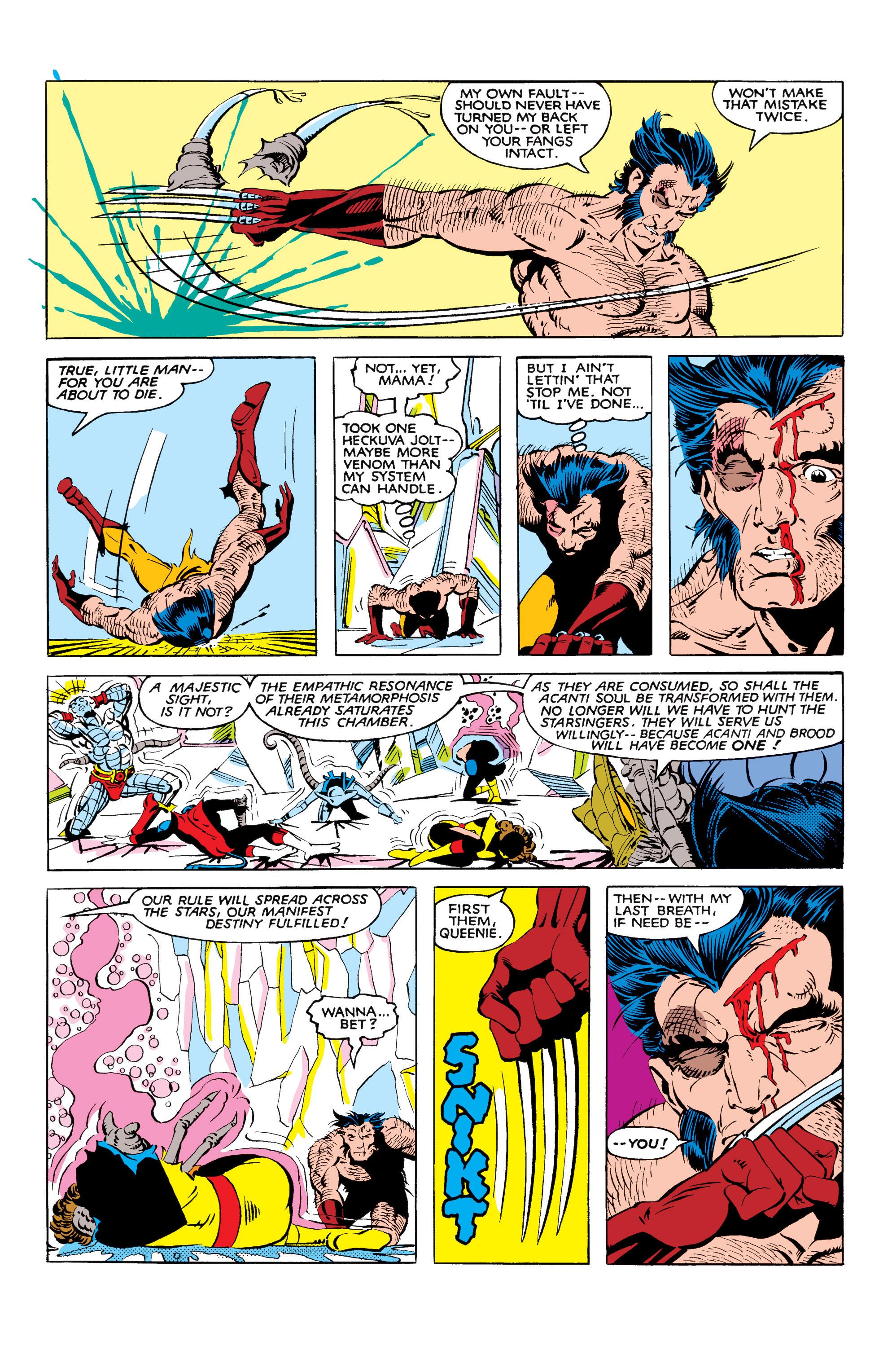 Read online Uncanny X-Men (1963) comic -  Issue #166 - 33