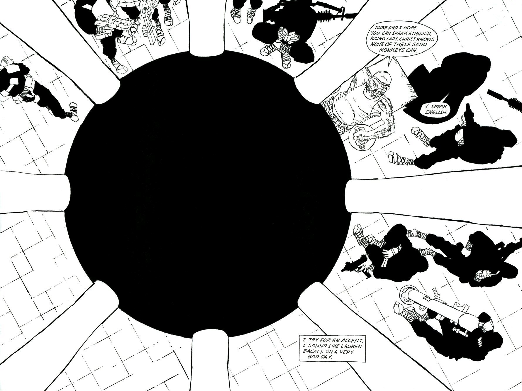 Read online Frank Miller's Holy Terror comic -  Issue # TPB - 102