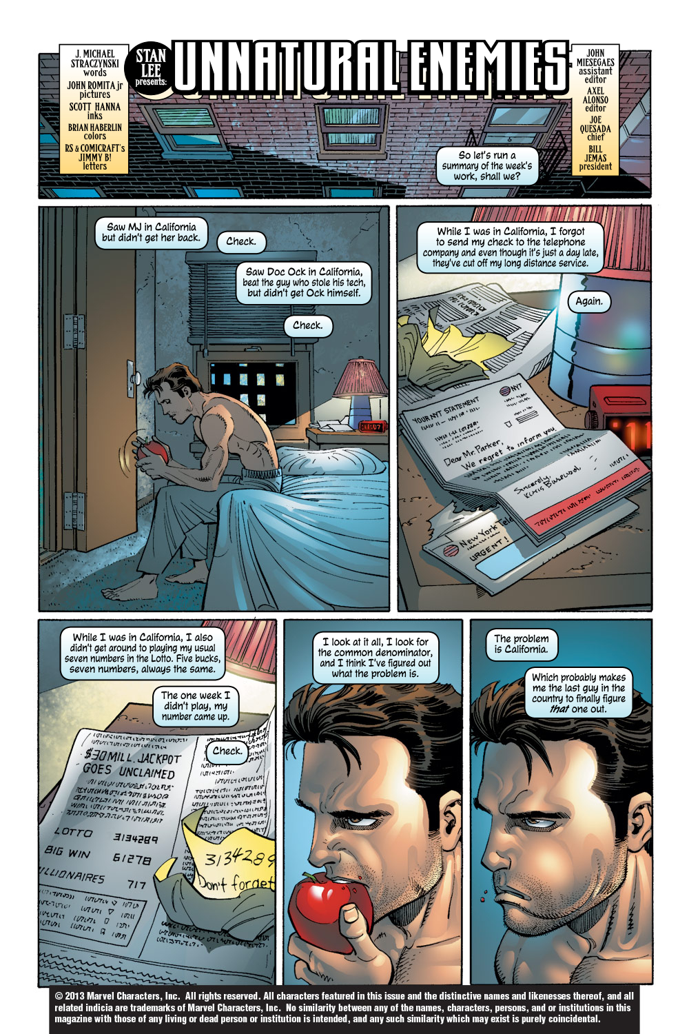 The Amazing Spider-Man (1999) 46 Page 1