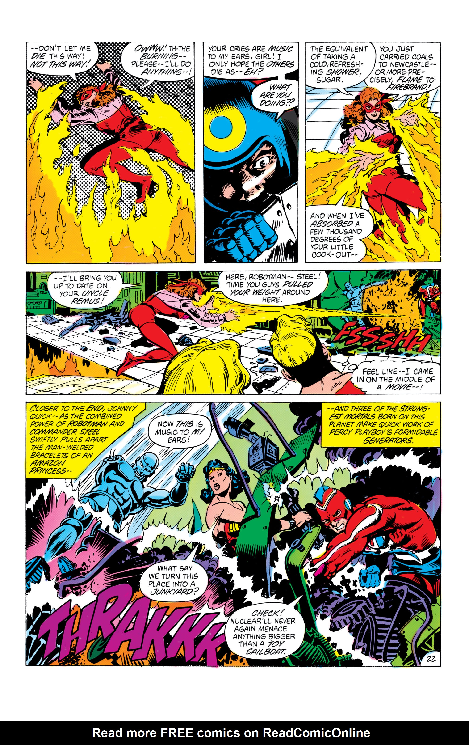 Read online All-Star Squadron comic -  Issue #16 - 23