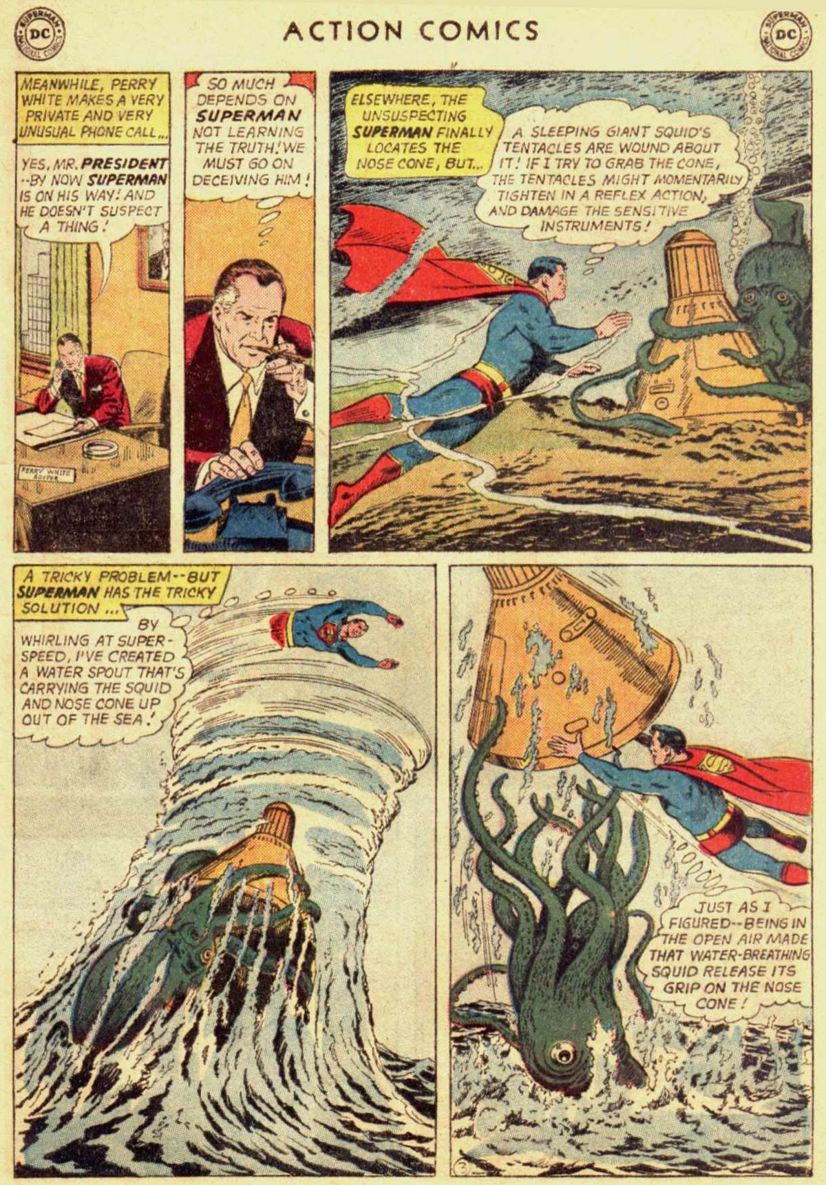 Read online Action Comics (1938) comic -  Issue #309 - 5