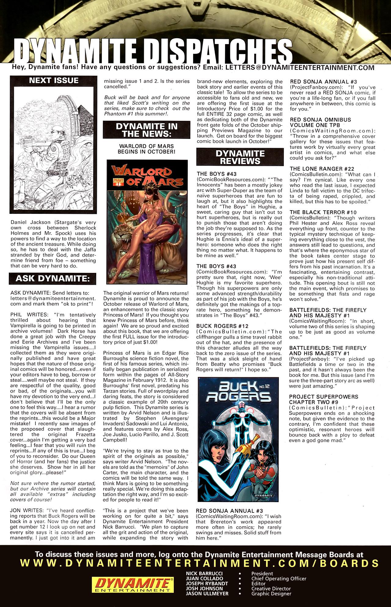 Read online Stargate: Daniel Jackson comic -  Issue #2 - 25