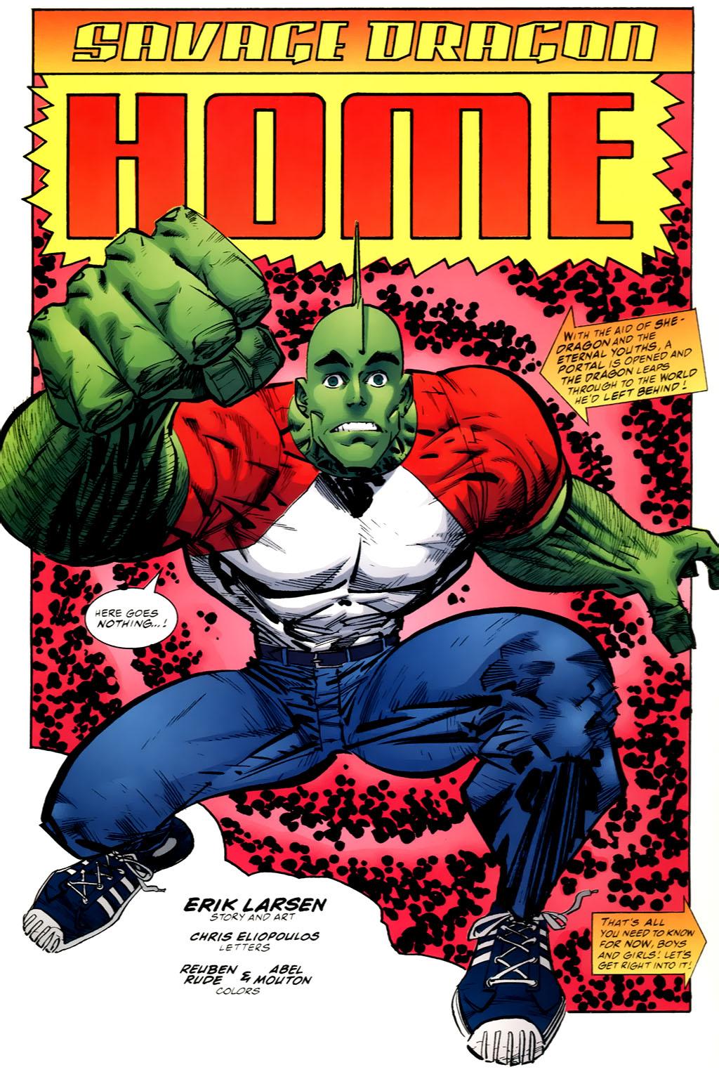 The Savage Dragon (1993) Issue #98 #101 - English 3