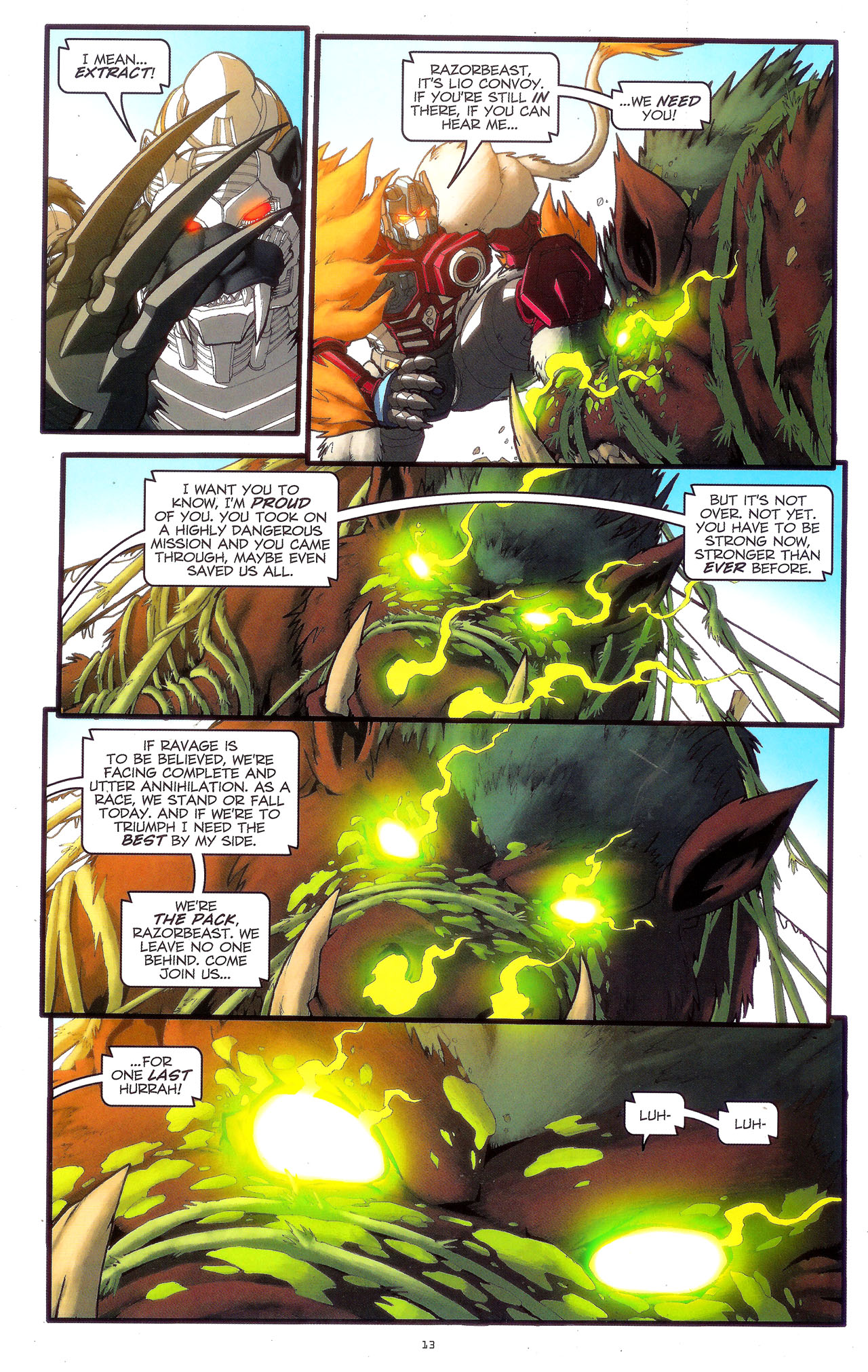 Read online Transformers: Beast Wars: The Ascending comic -  Issue #3 - 16
