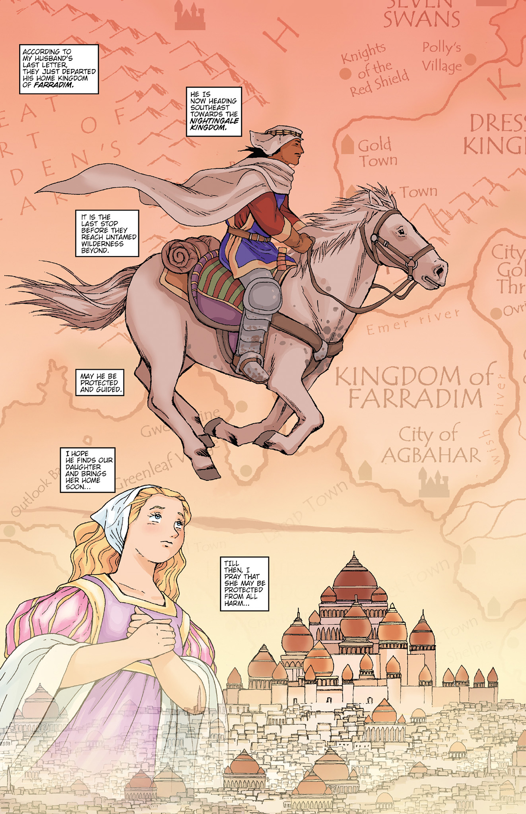 Read online Courageous Princess comic -  Issue # TPB 1 - 163