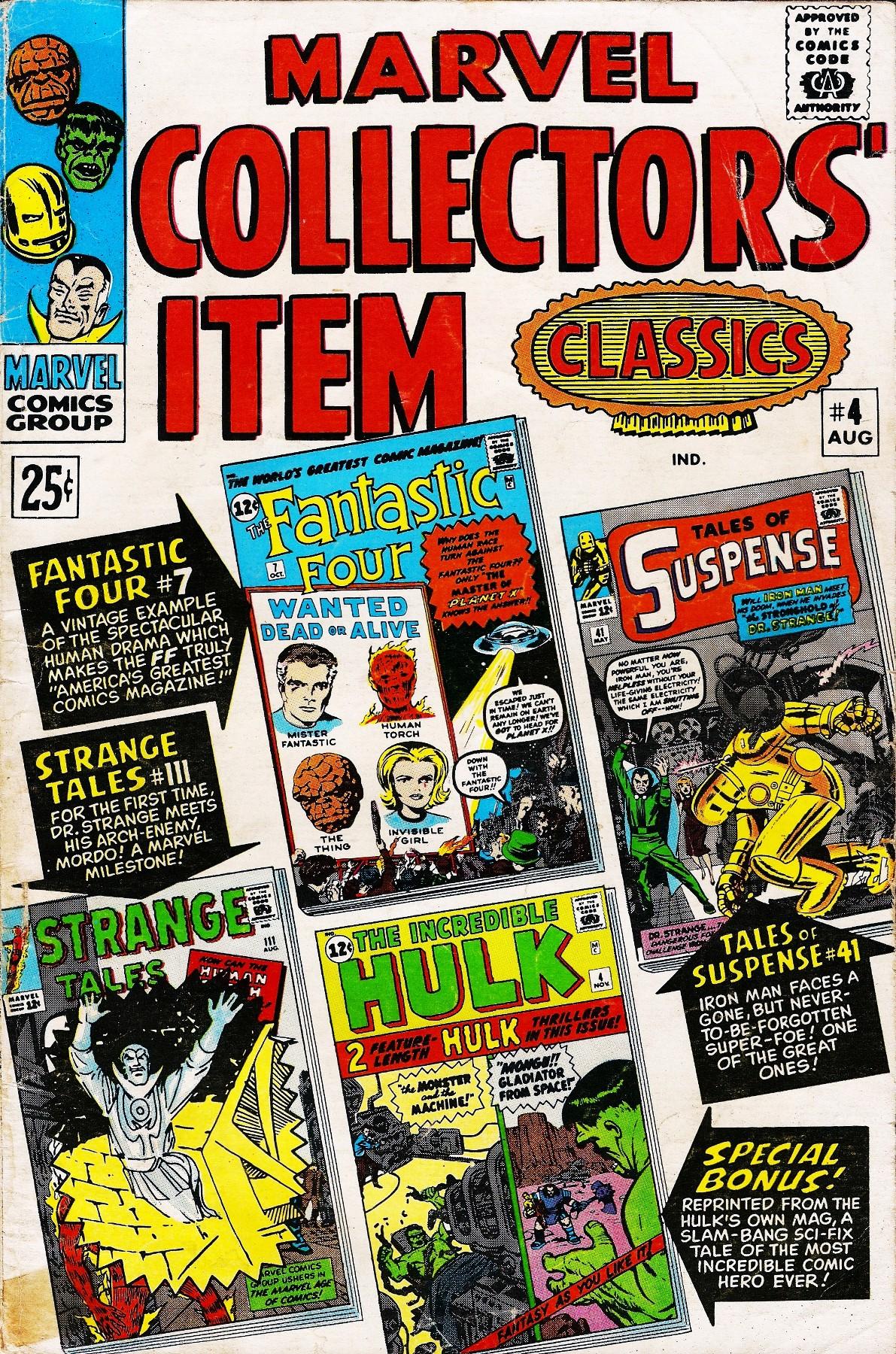 Marvel Collectors Item Classics 4 Page 1