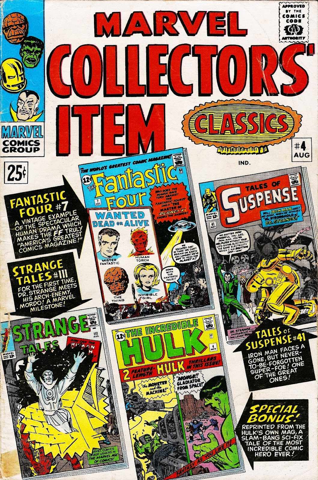 Marvel Collectors Item Classics 4 Page 1