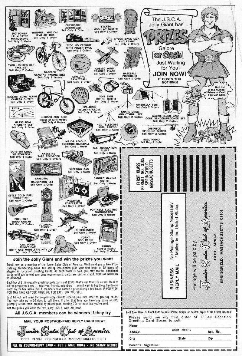 Read online Shazam! (1973) comic -  Issue #12 - 97