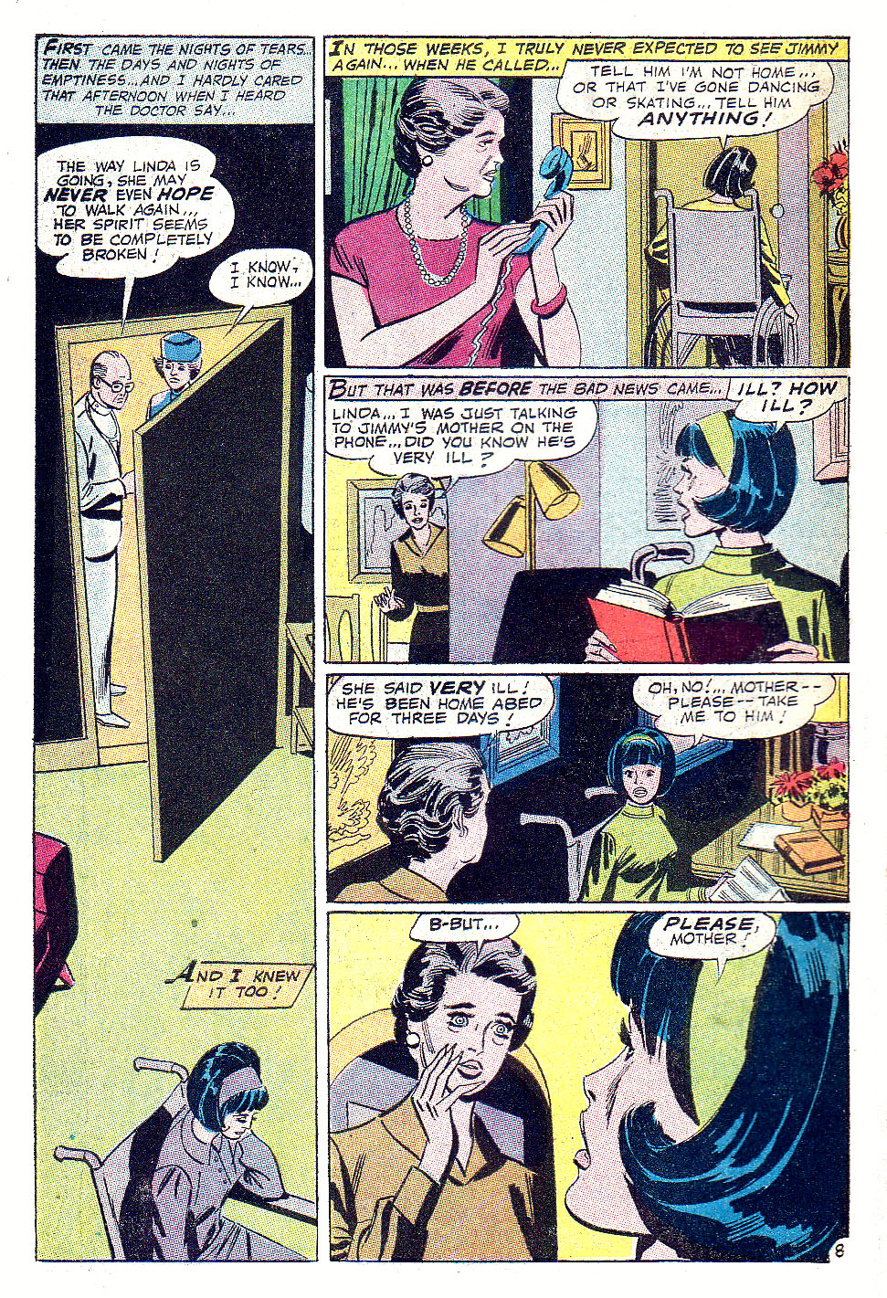 Read online Secret Hearts comic -  Issue #131 - 10