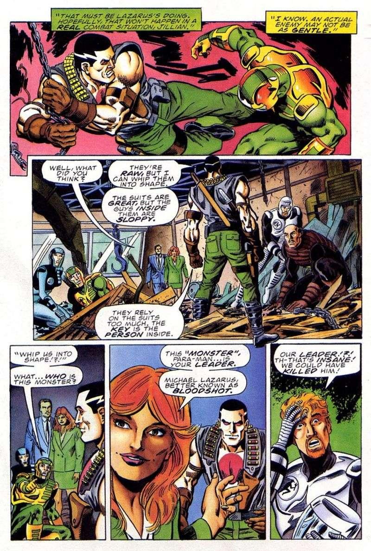 Read online Secret Weapons comic -  Issue #11 - 22