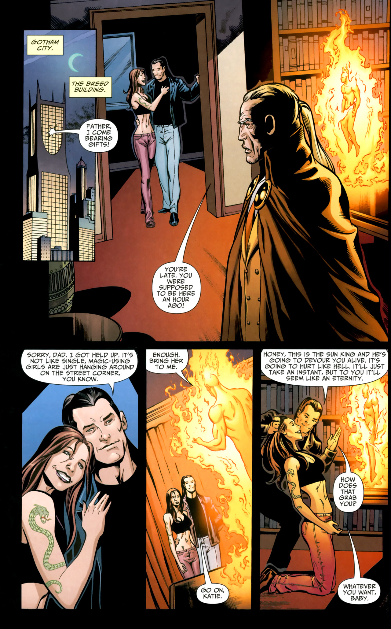 Read online Shadowpact comic -  Issue #18 - 6