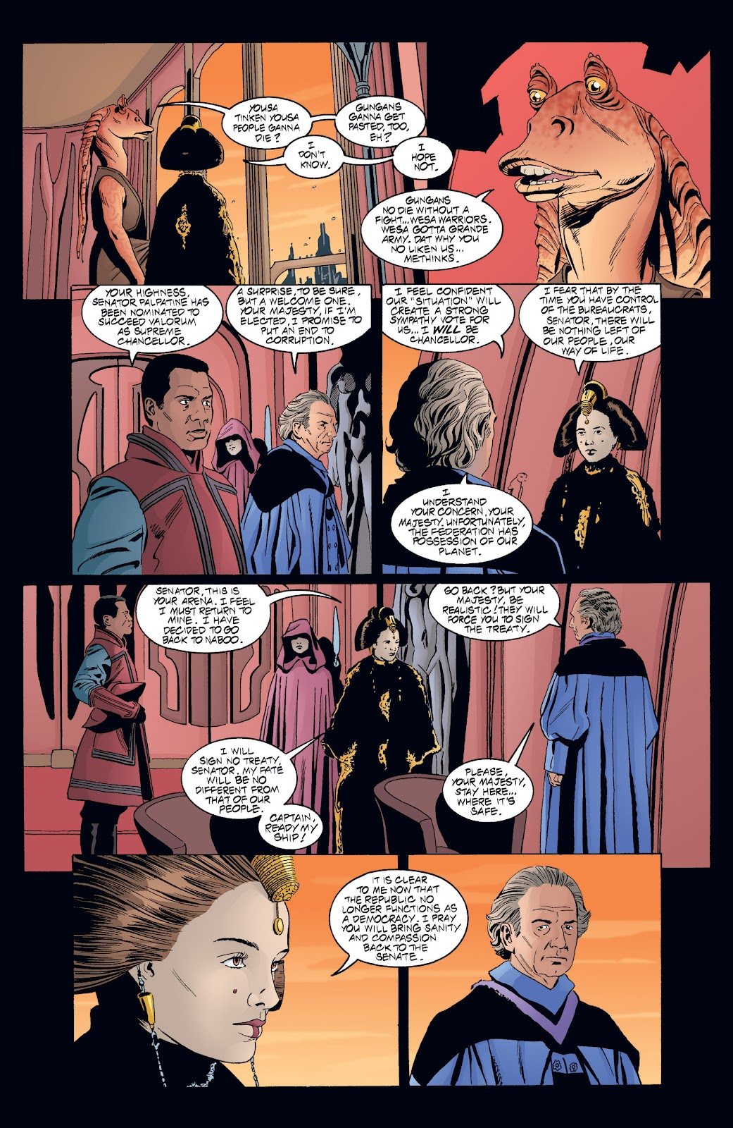 Read online Star Wars Legends: Rise of the Sith - Epic Collection comic -  Issue # TPB 2 (Part 4) - 6