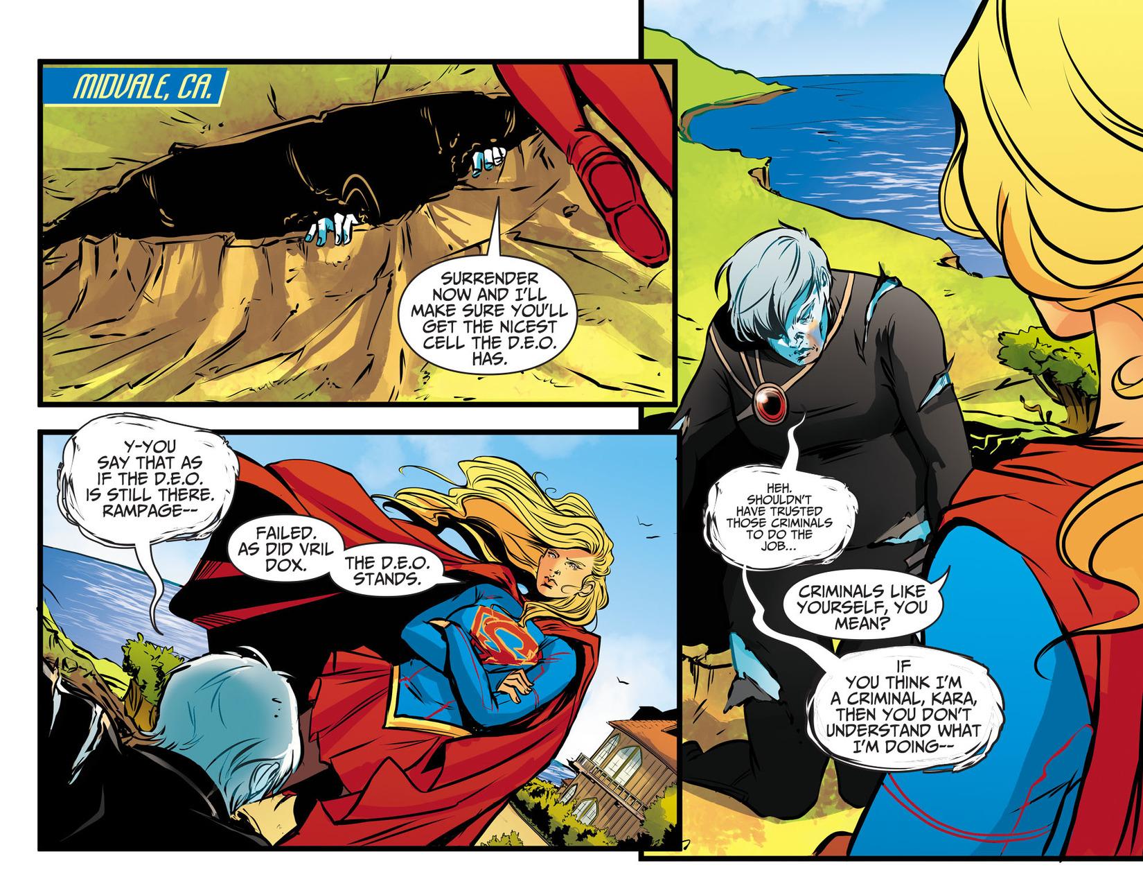 Read online Adventures of Supergirl comic -  Issue #13 - 7