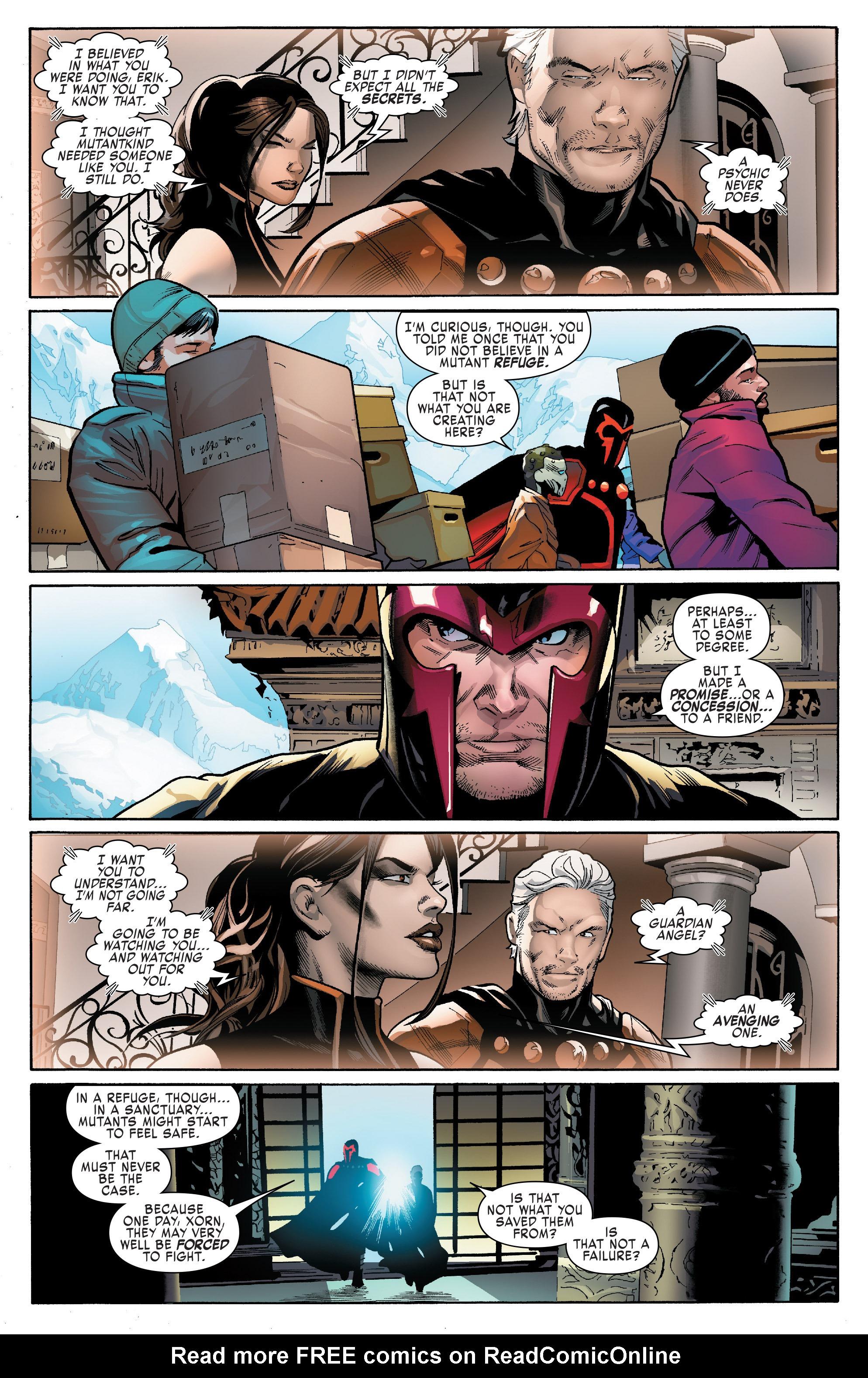 Read online Uncanny X-Men (2016) comic -  Issue #14 - 20